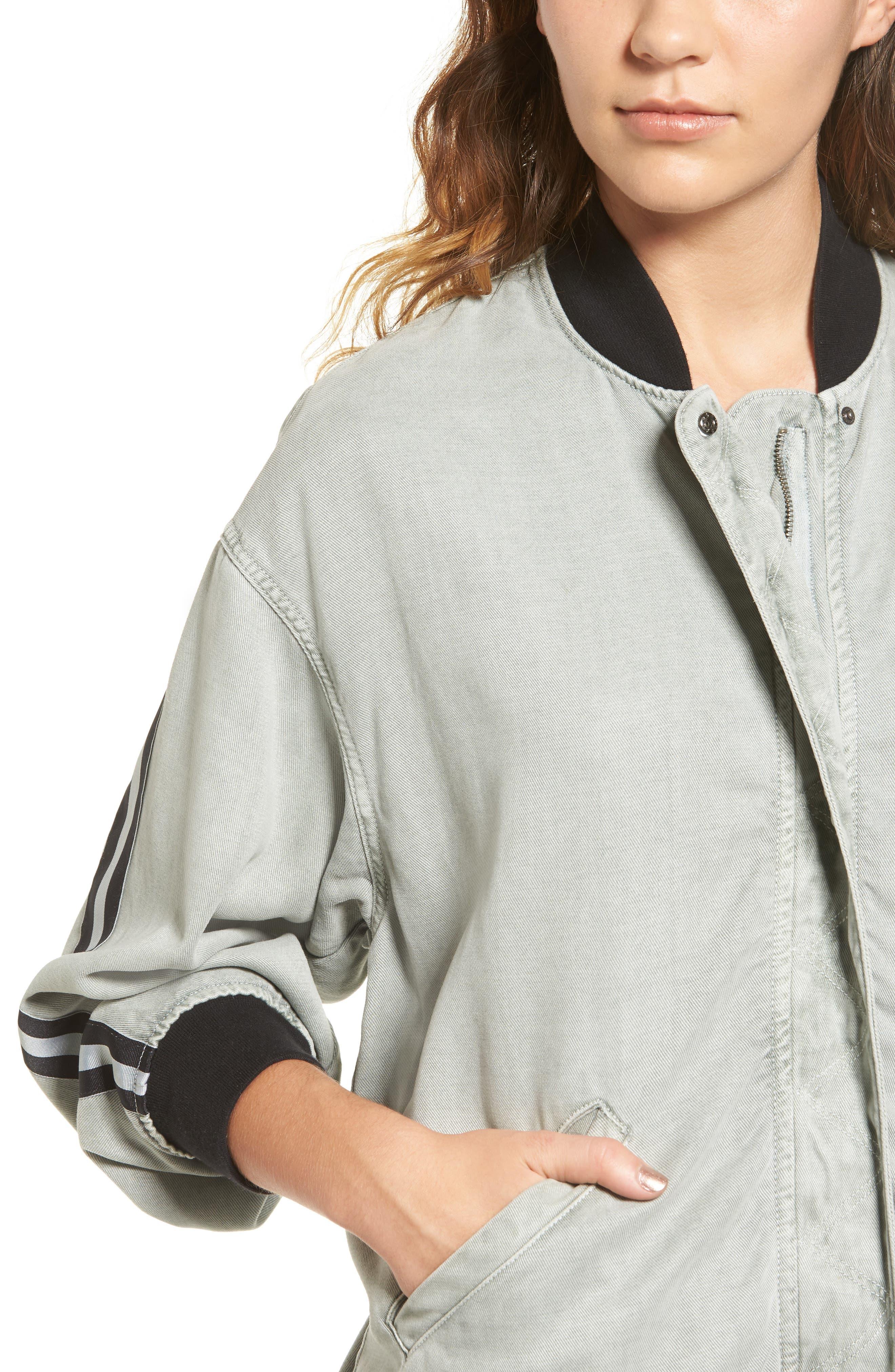 Nova Varsity Jacket,                             Alternate thumbnail 4, color,                             432