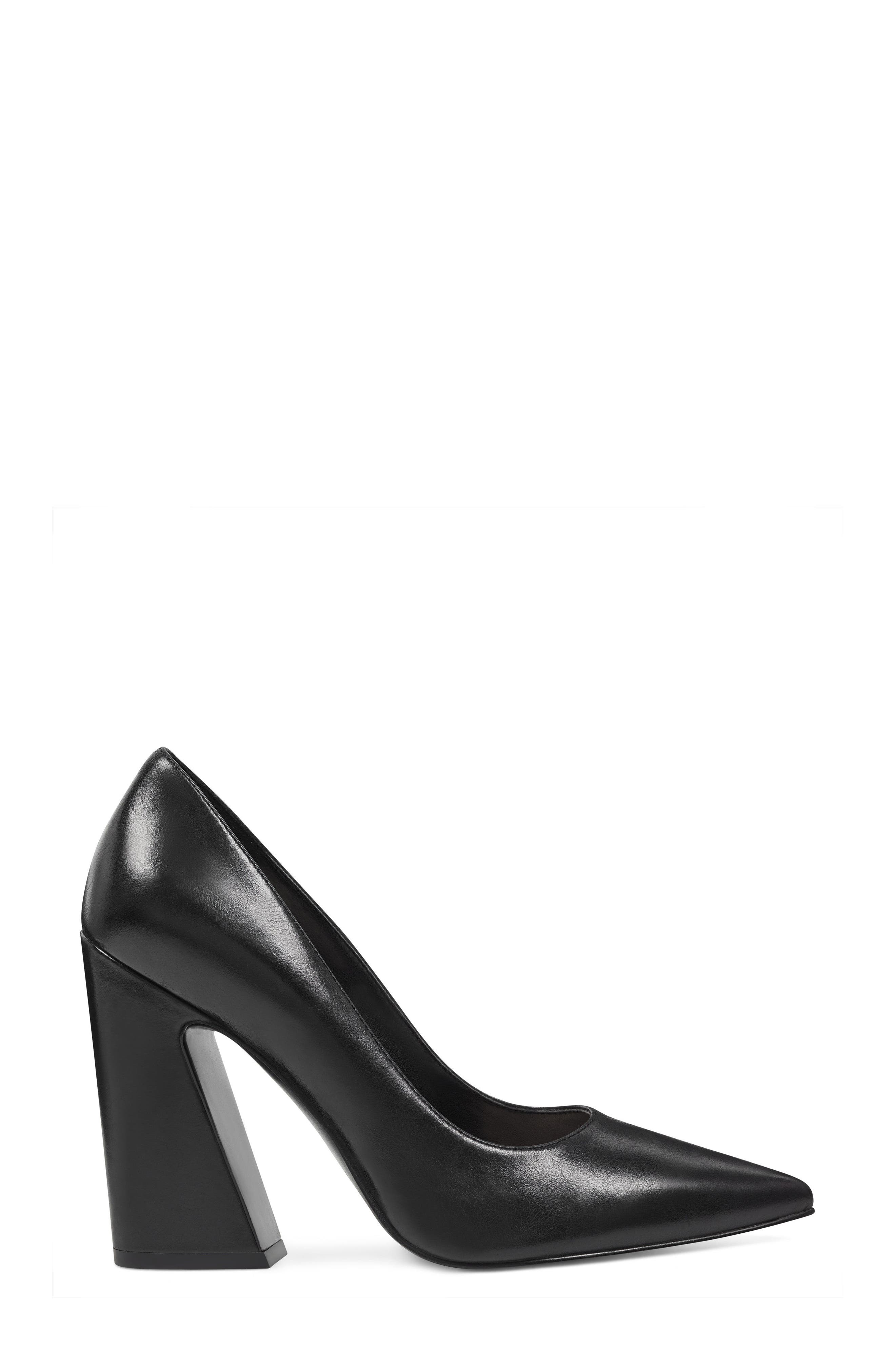 NINE WEST,                             Henra Pointy Toe Pump,                             Alternate thumbnail 3, color,                             001