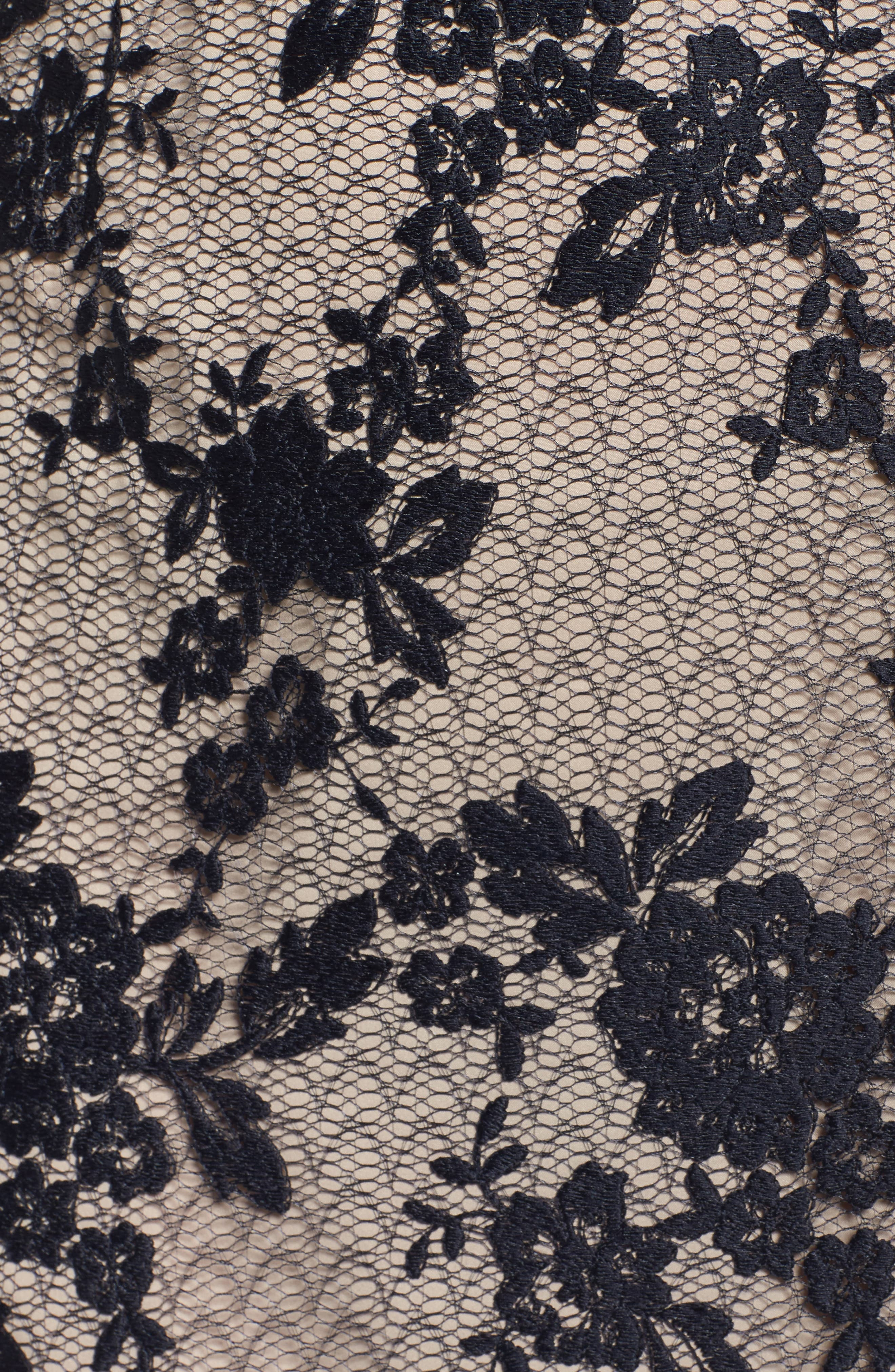 Lace Sheath Dress,                             Alternate thumbnail 5, color,                             402
