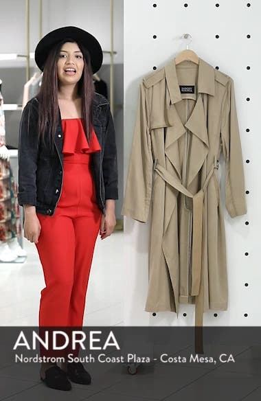 Angelina Trench Coat, sales video thumbnail