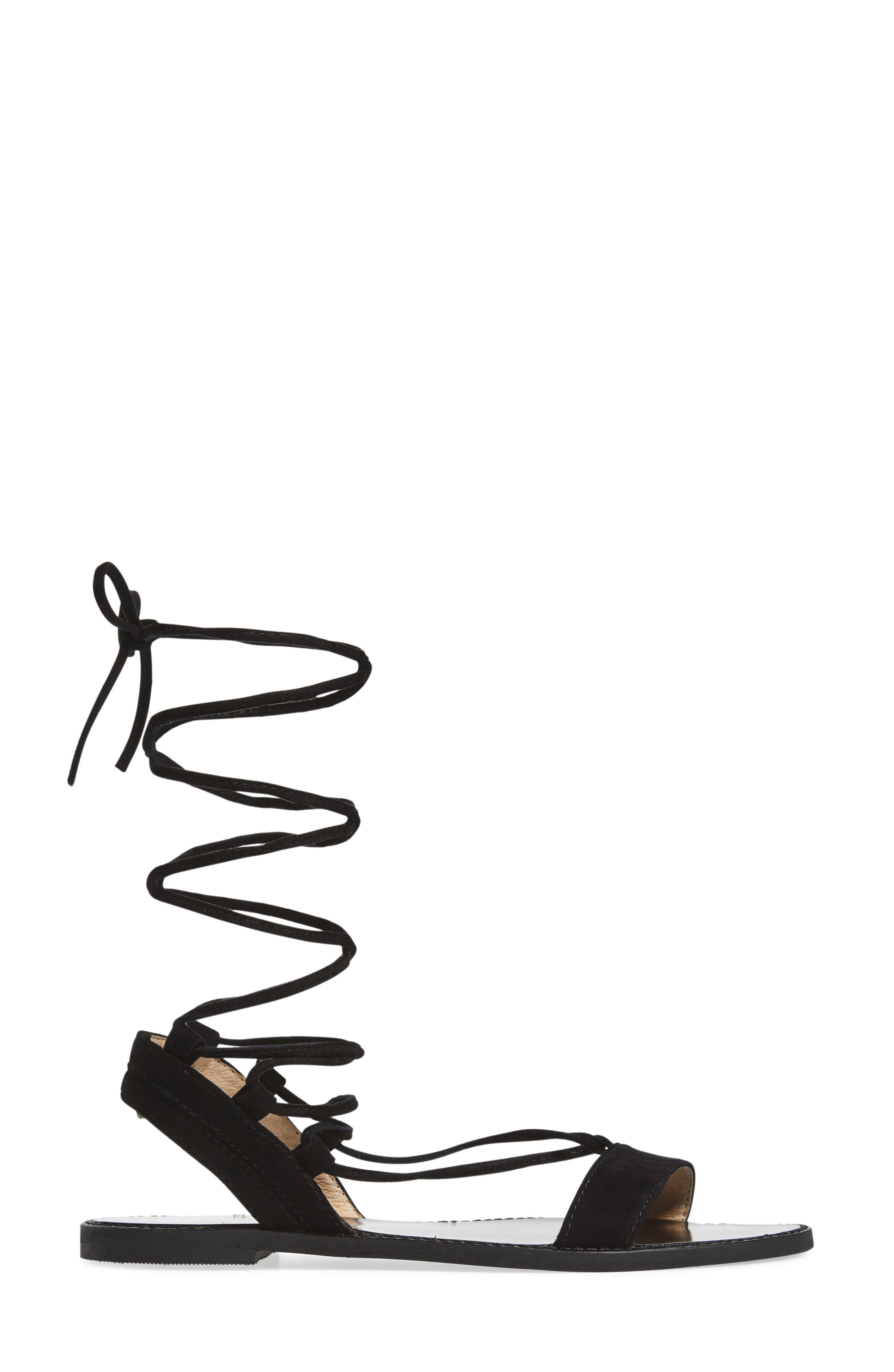 Brea Ankle Wrap Sandal,                             Alternate thumbnail 5, color,