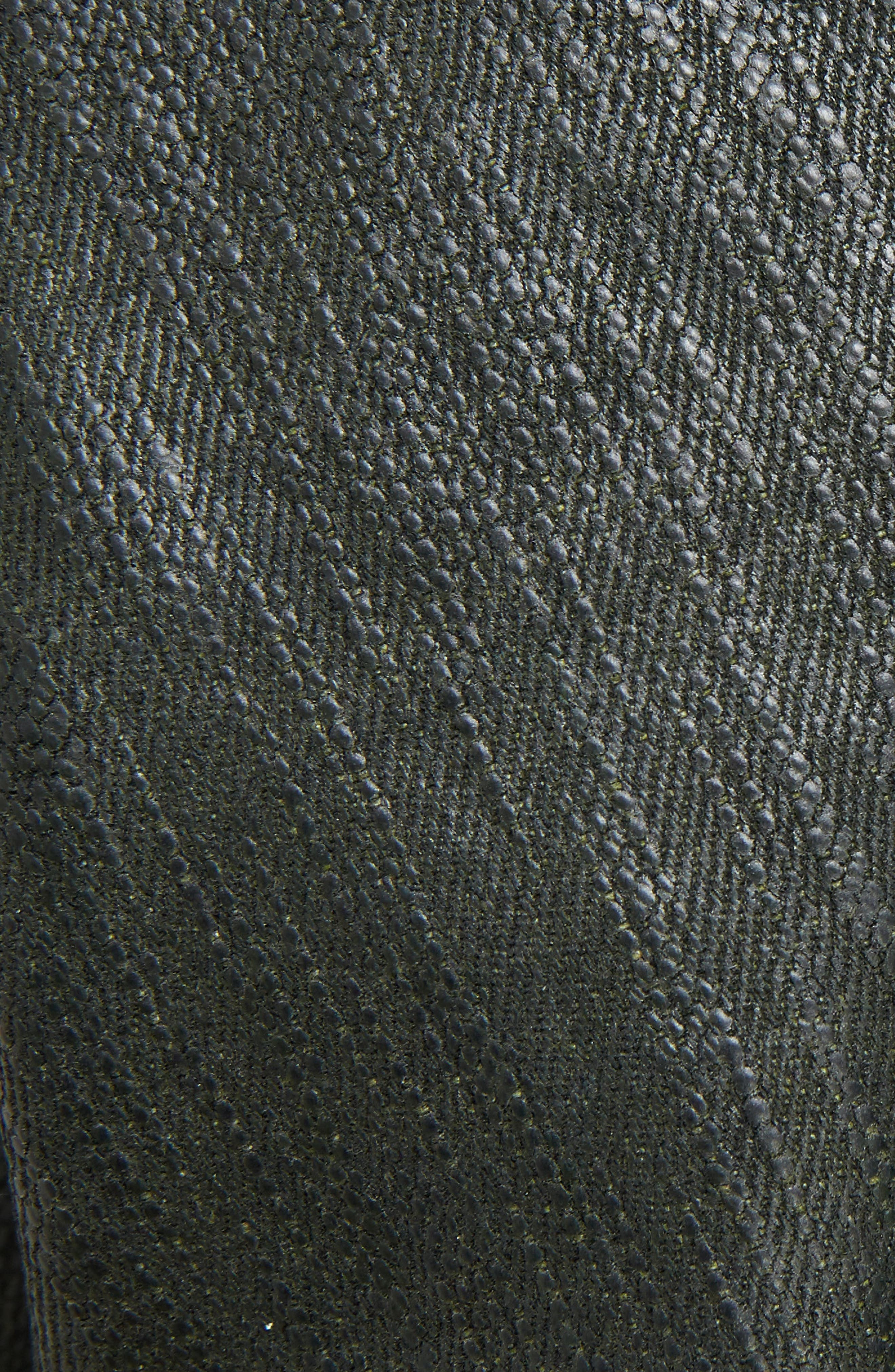 Knit Sleeve Waxed Cotton Jacket,                             Alternate thumbnail 5, color,