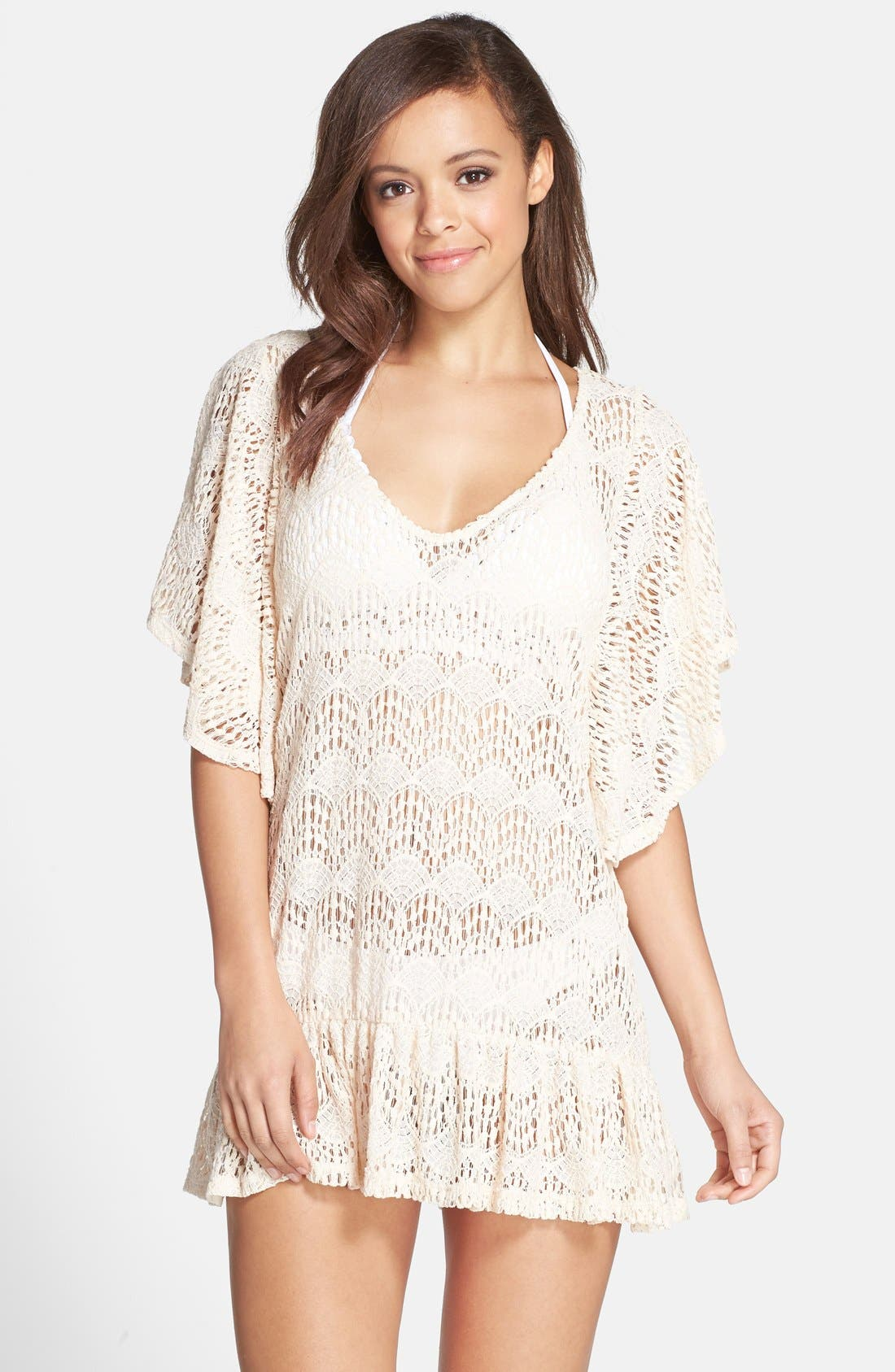 'Free Spirit Malena' Cover-Up Tunic, Main, color, 650