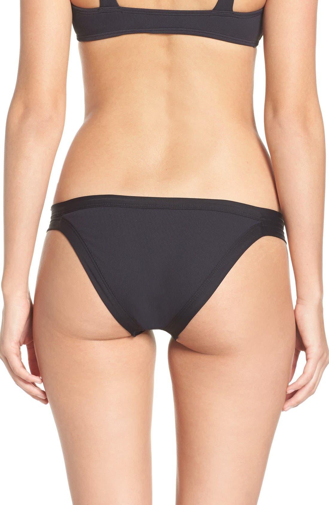 Ridin' High Charlie Classic Bikini Bottoms,                             Main thumbnail 3, color,