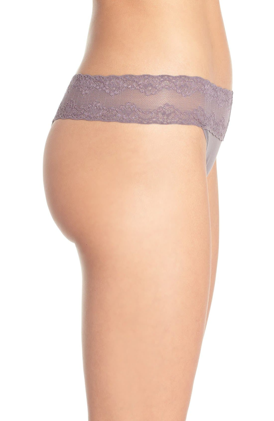 Bliss Perfection Thong,                             Alternate thumbnail 336, color,