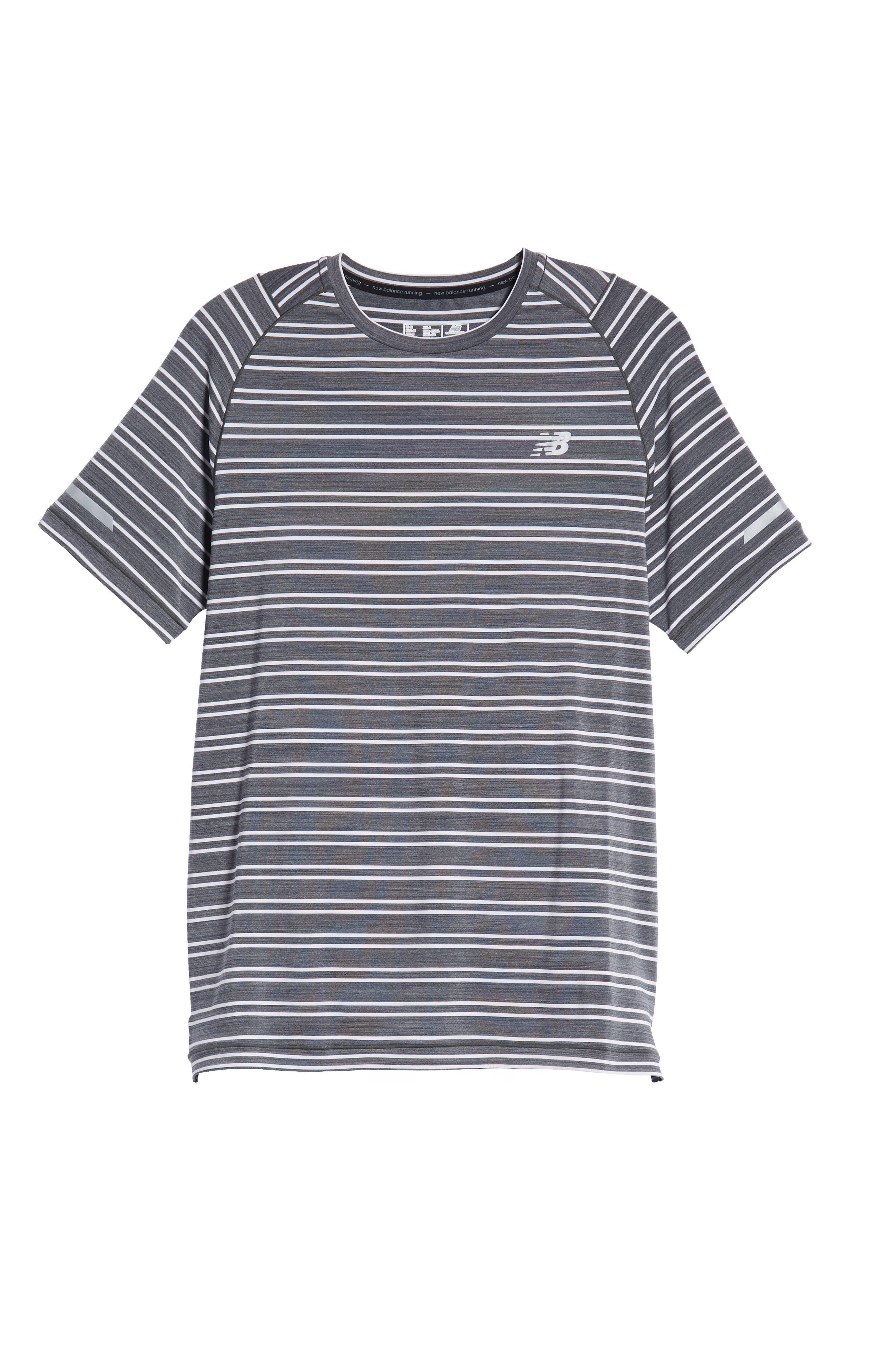 Seasonless Crewneck T-Shirt,                             Alternate thumbnail 6, color,                             001