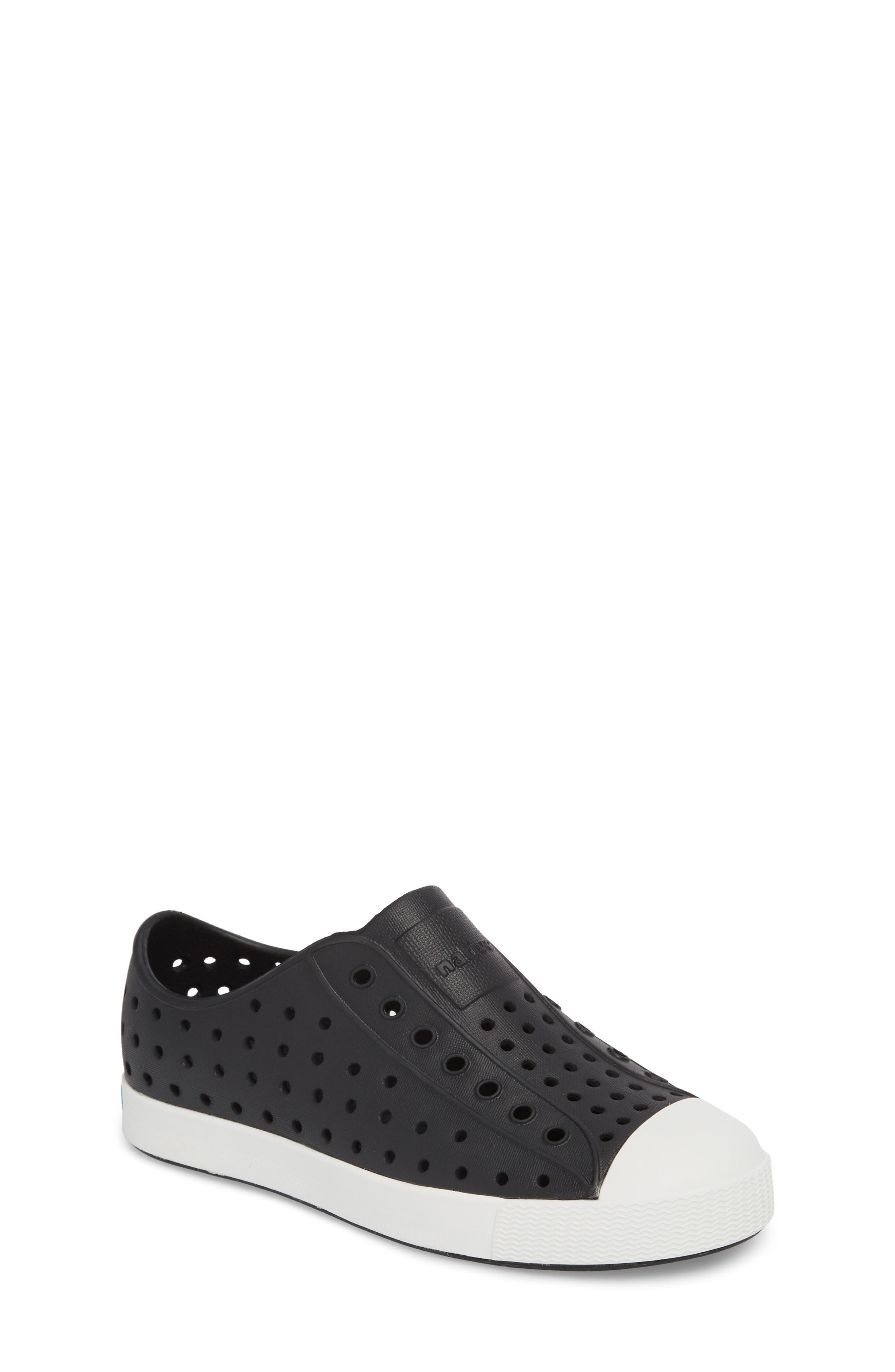 3d4da5d3379 Kid s Native Shoes Jefferson Water Friendly Slip-On Vegan Sneaker