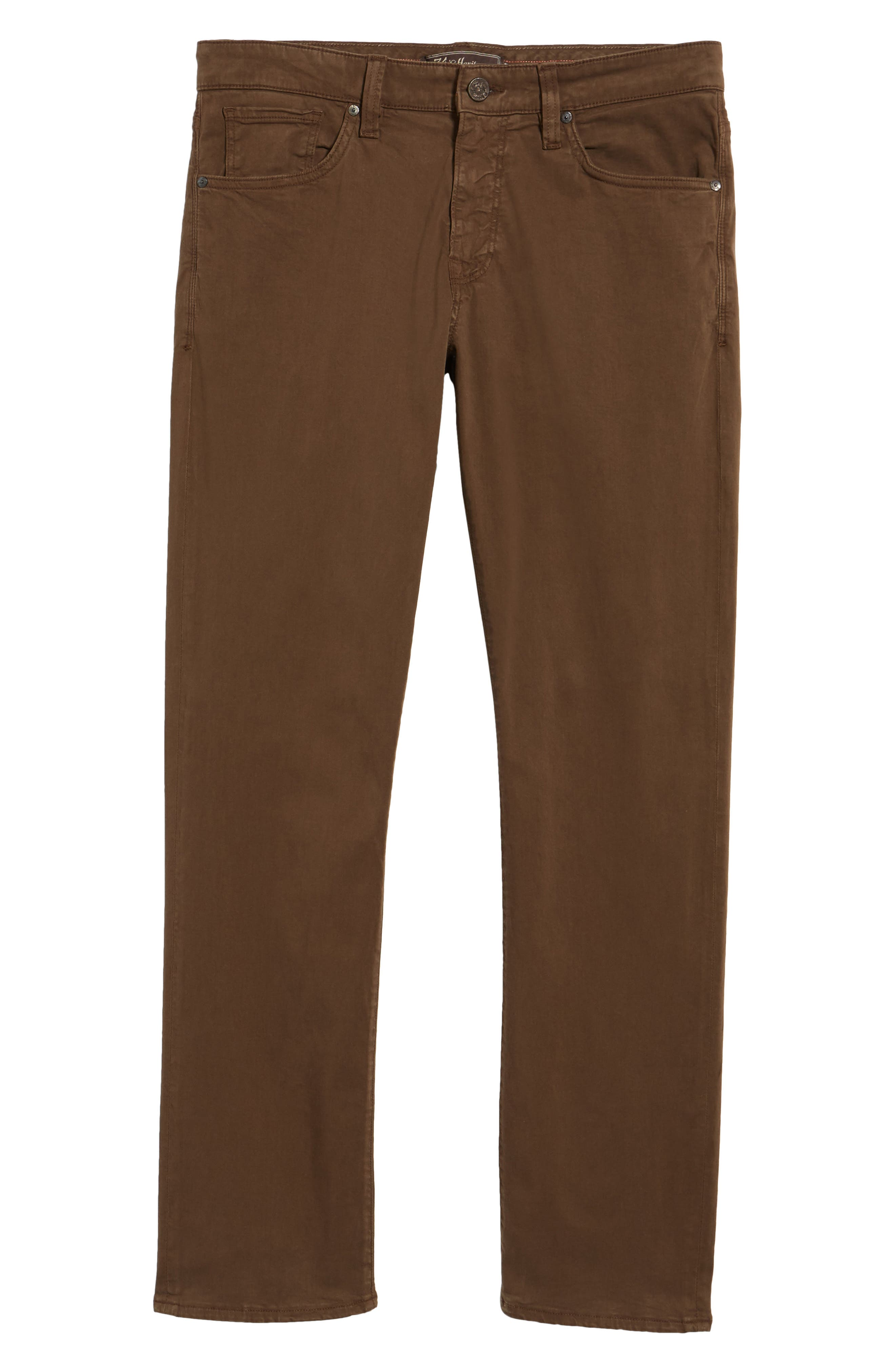 Courage Straight Leg Twill Pants,                             Alternate thumbnail 6, color,                             200