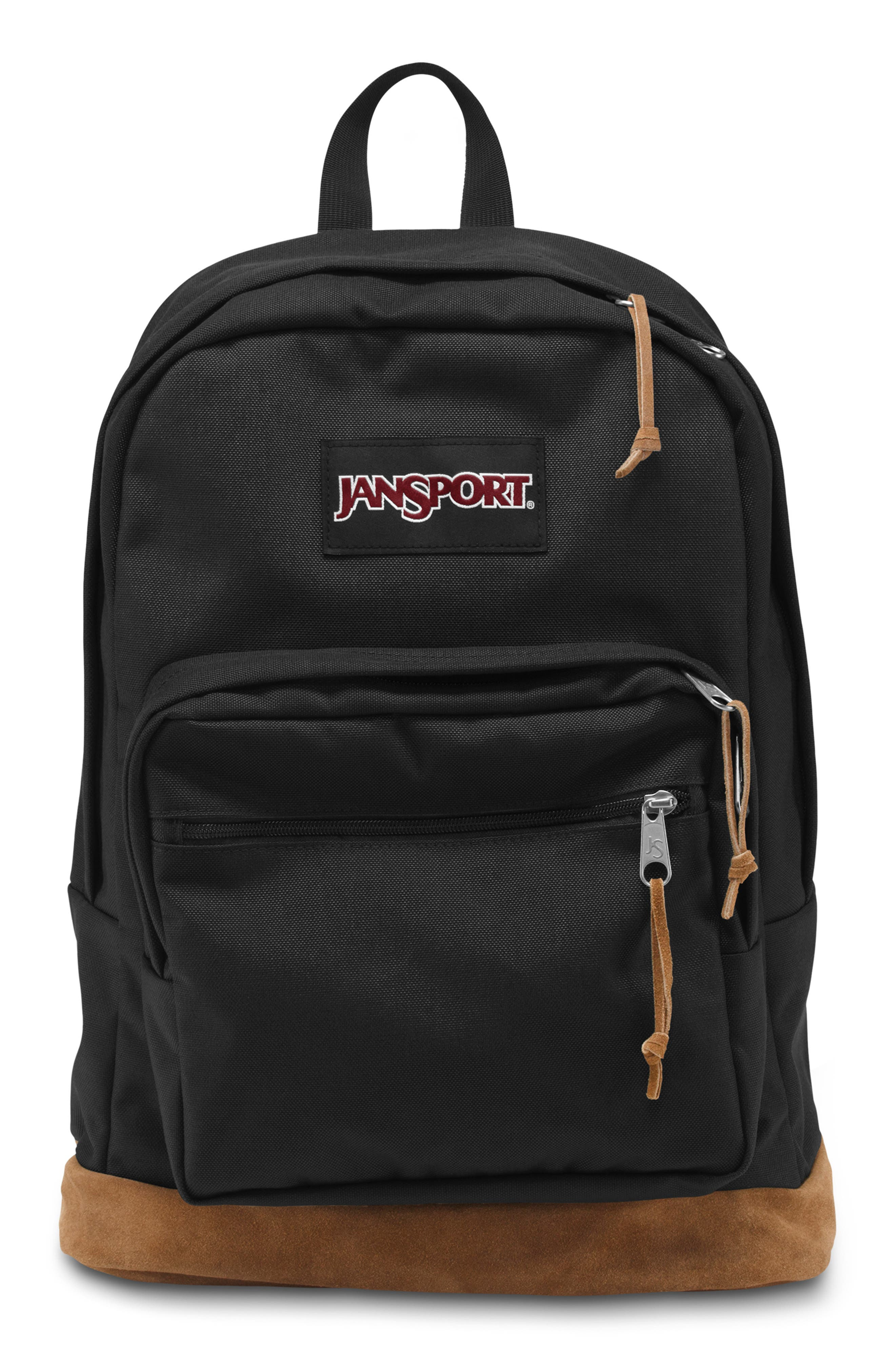 'Right Pack' Backpack,                             Alternate thumbnail 10, color,                             BLACK