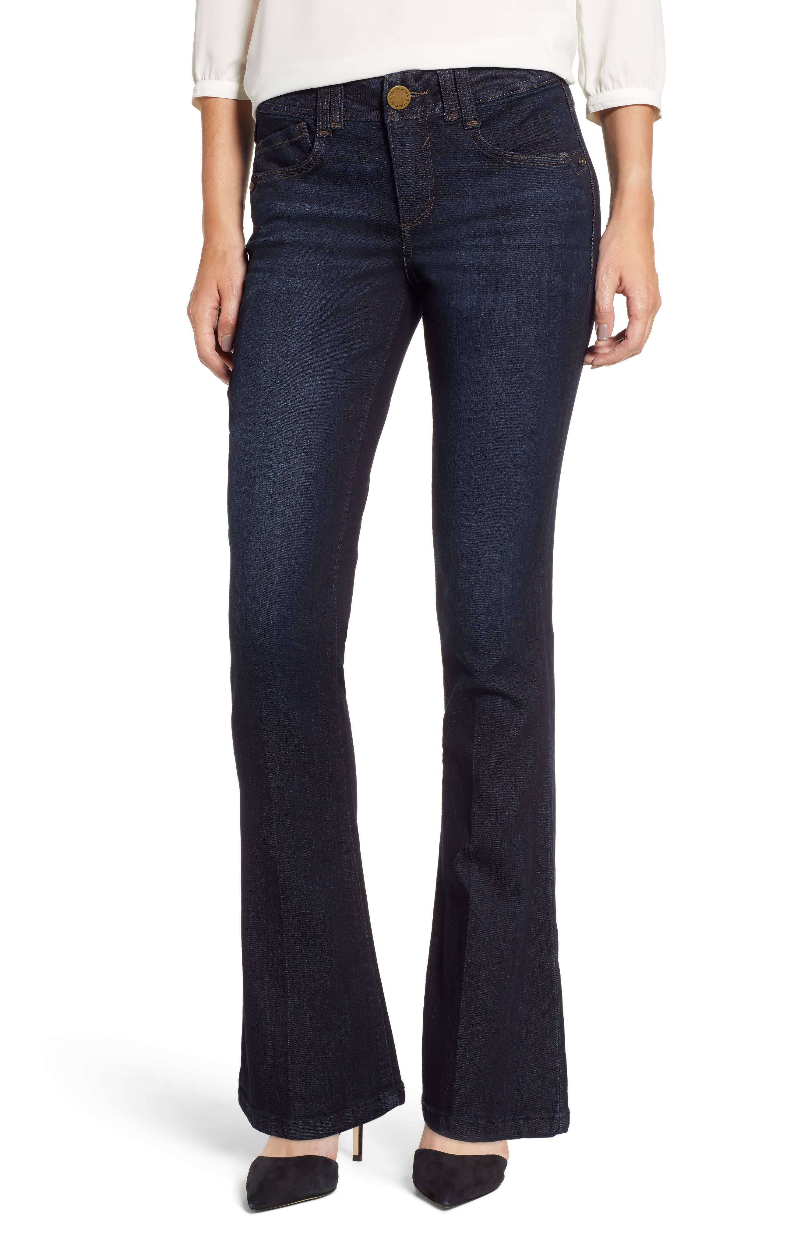 Ab-solution Itty Bitty Bootcut Jeans,                         Main,                         color, INDIGO