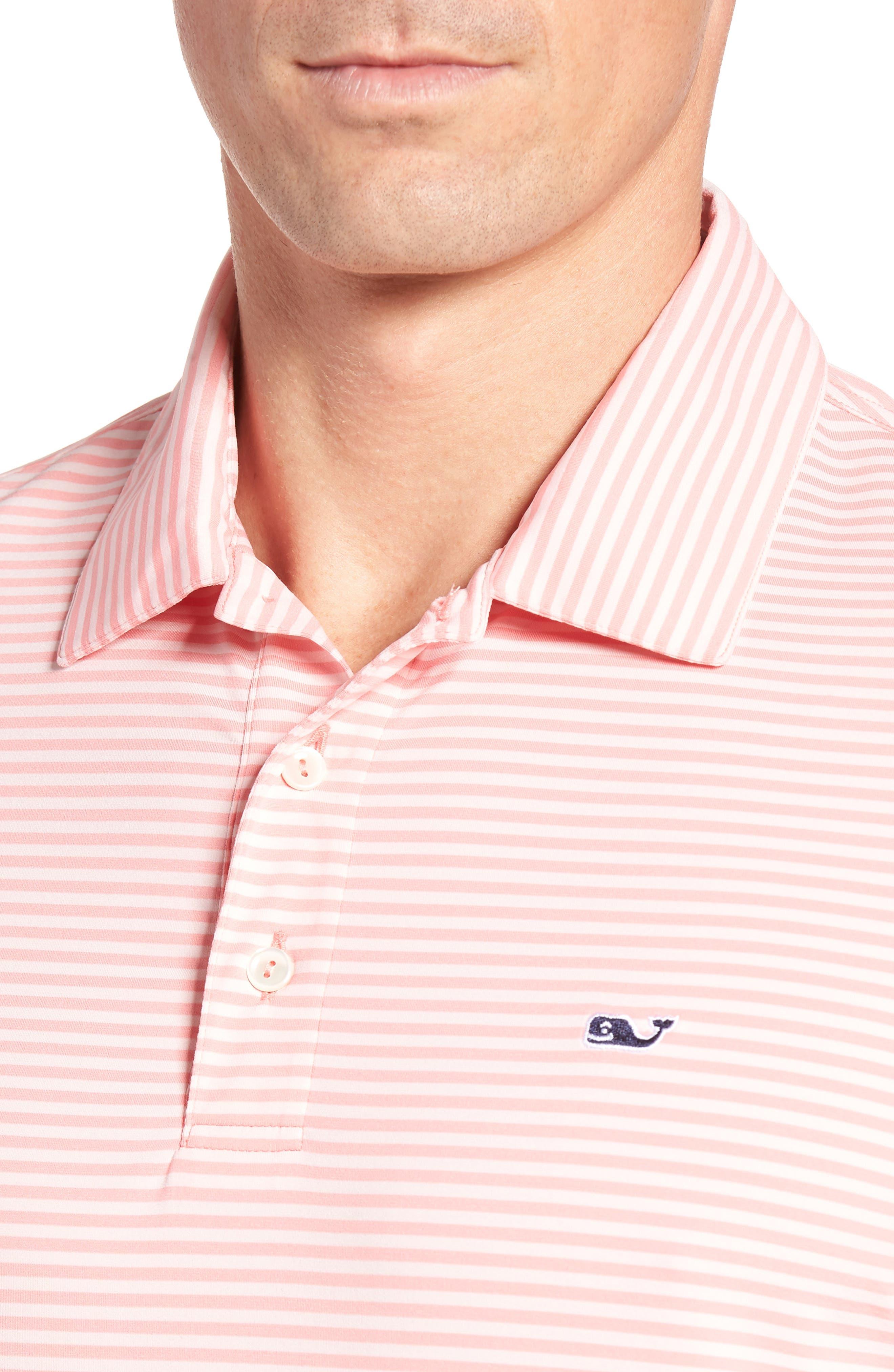 Kennedy Stripe Golf Polo,                             Alternate thumbnail 74, color,