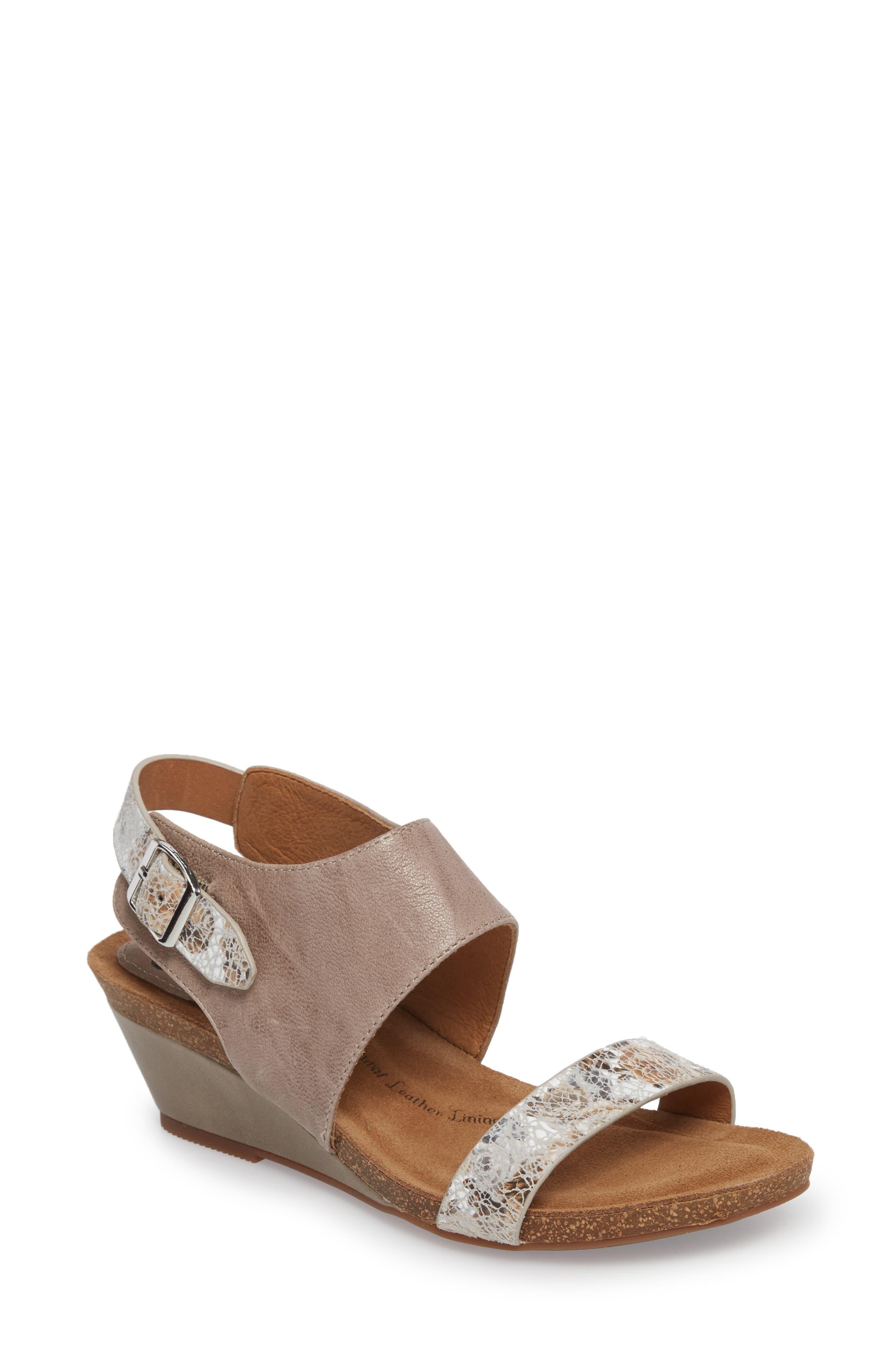 'Vanita' Leather Sandal,                             Main thumbnail 1, color,                             031