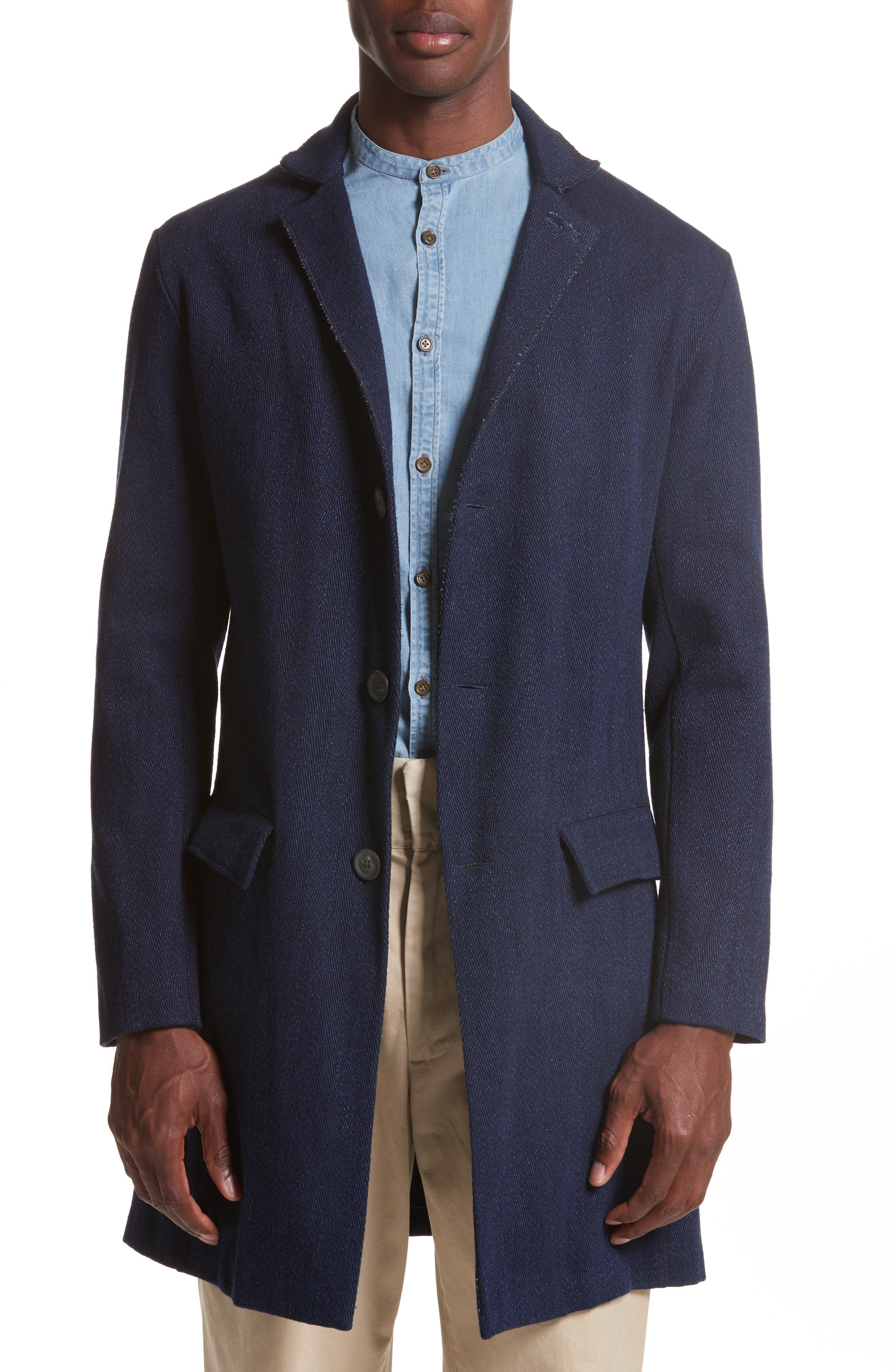 Napoli Herringbone Topcoat,                         Main,                         color, 465
