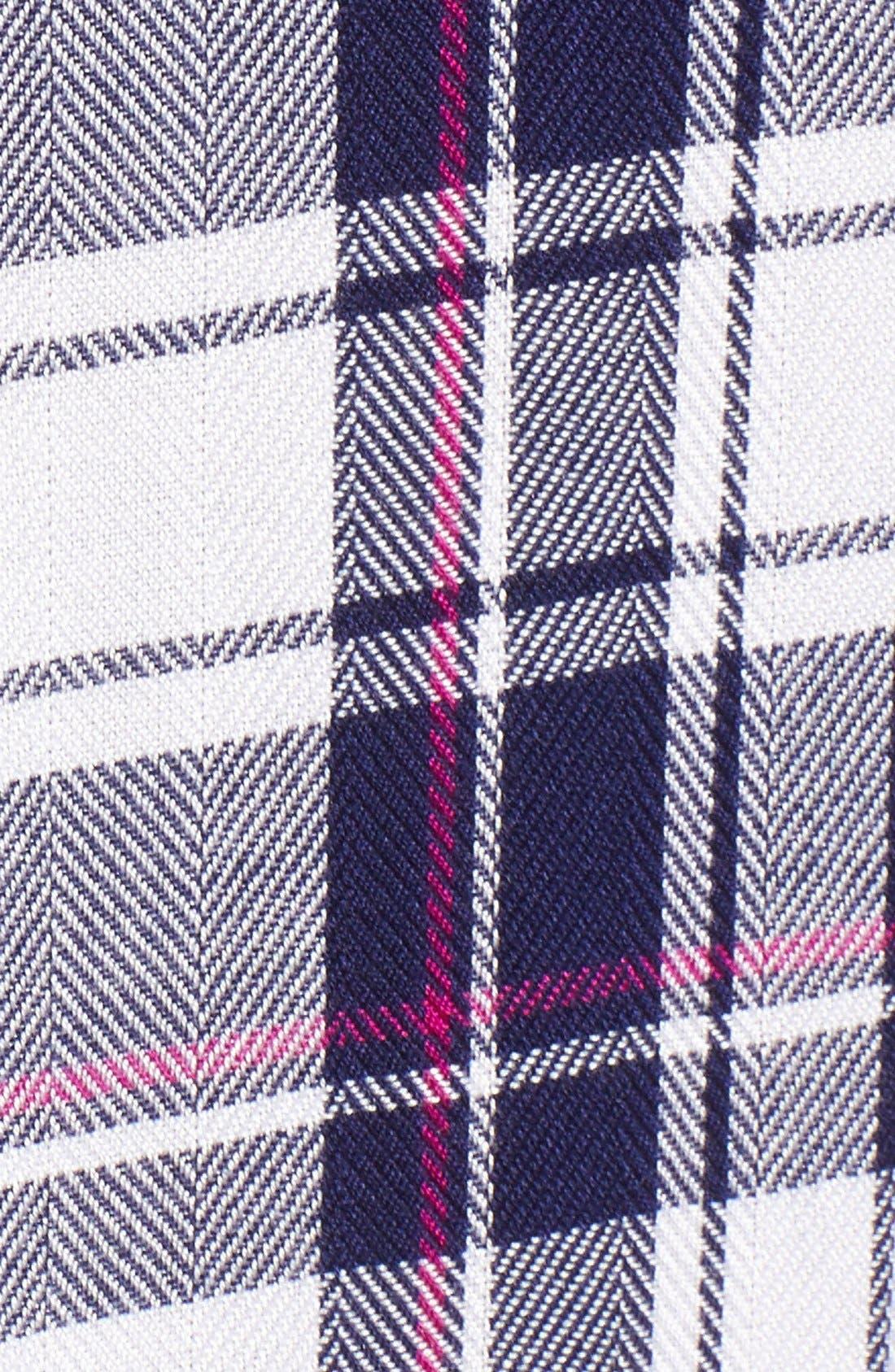 'Jordyn' Sleeveless Plaid Tunic,                             Alternate thumbnail 3, color,                             130