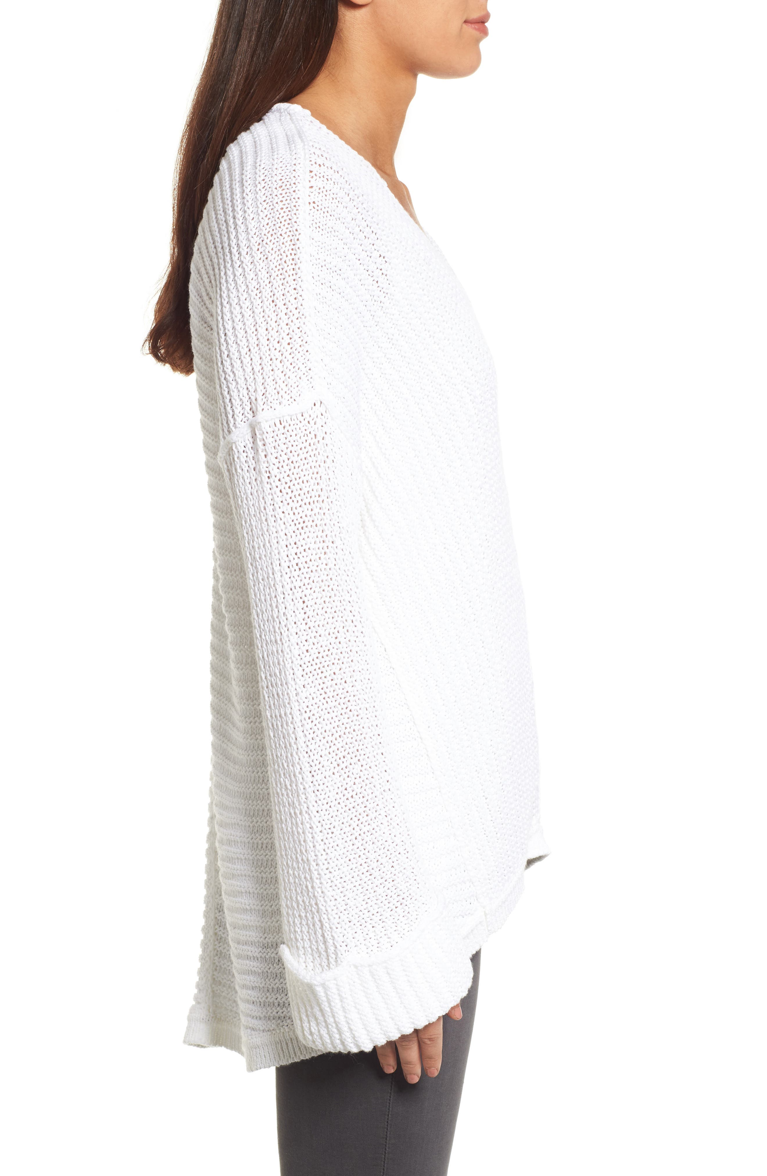 Cuffed Sleeve Sweater,                             Alternate thumbnail 12, color,