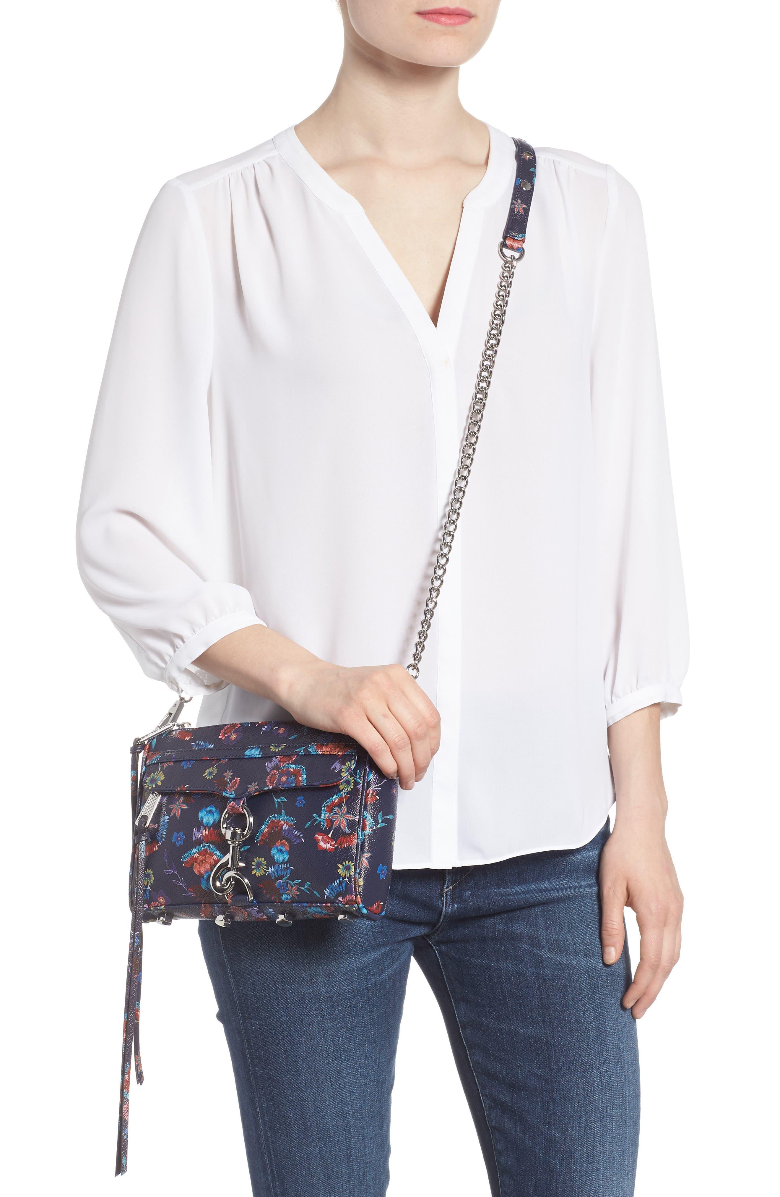 Mini MAC Convertible Crossbody Bag,                             Alternate thumbnail 3, color,