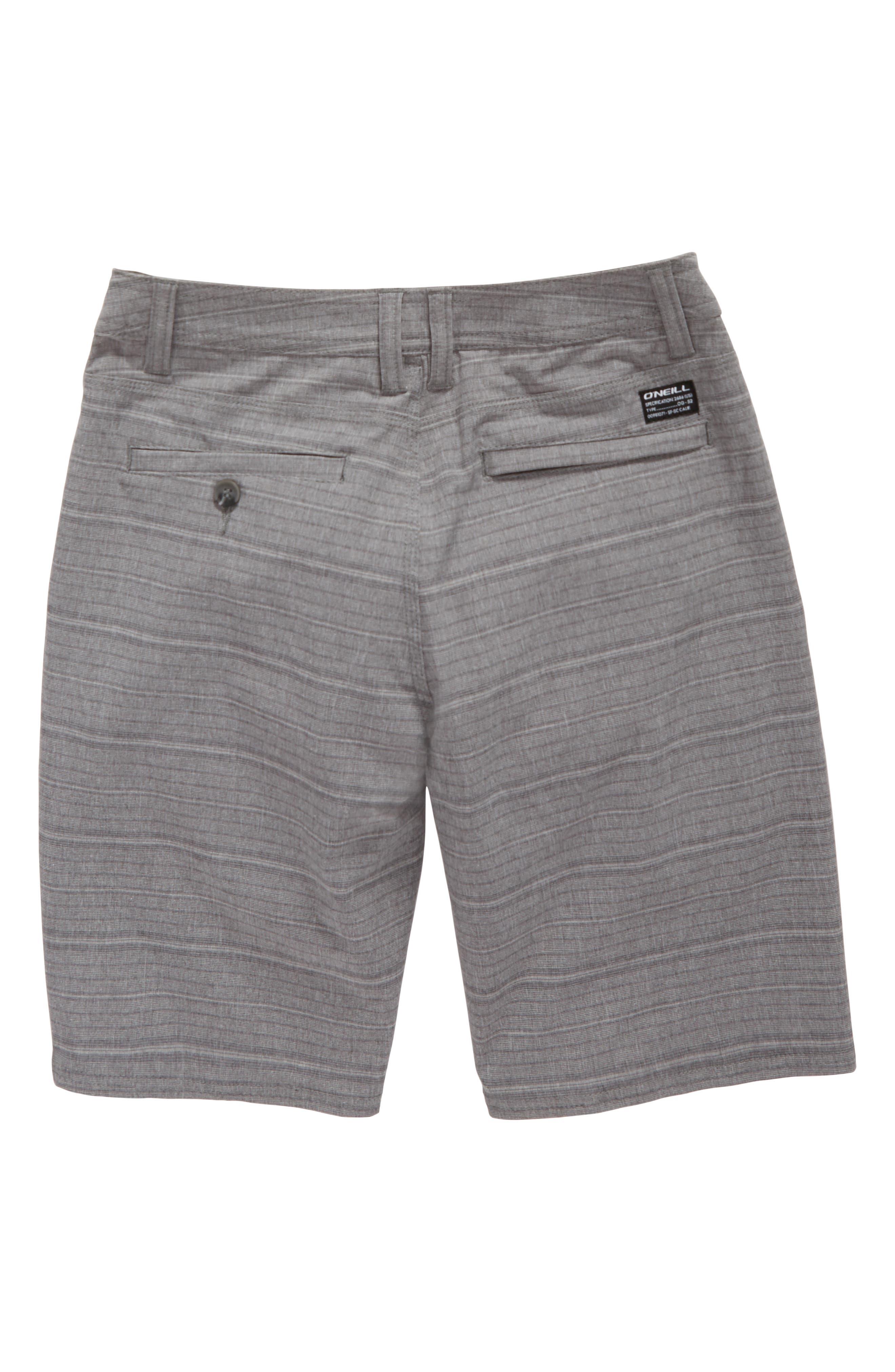 Locked Stripe Hybrid Shorts,                             Alternate thumbnail 4, color,                             020
