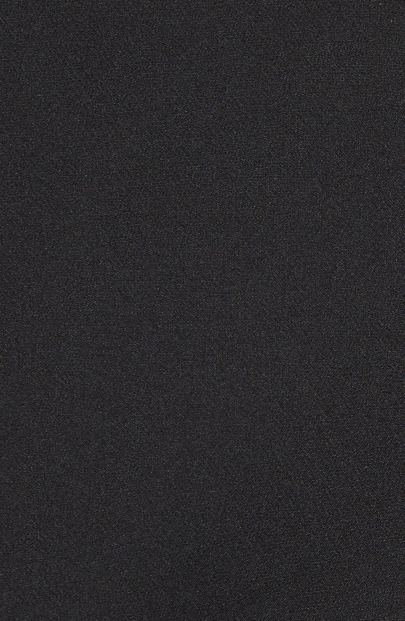 Annie Cascade Sleeve Stretch Cady Top,                             Alternate thumbnail 5, color,                             001