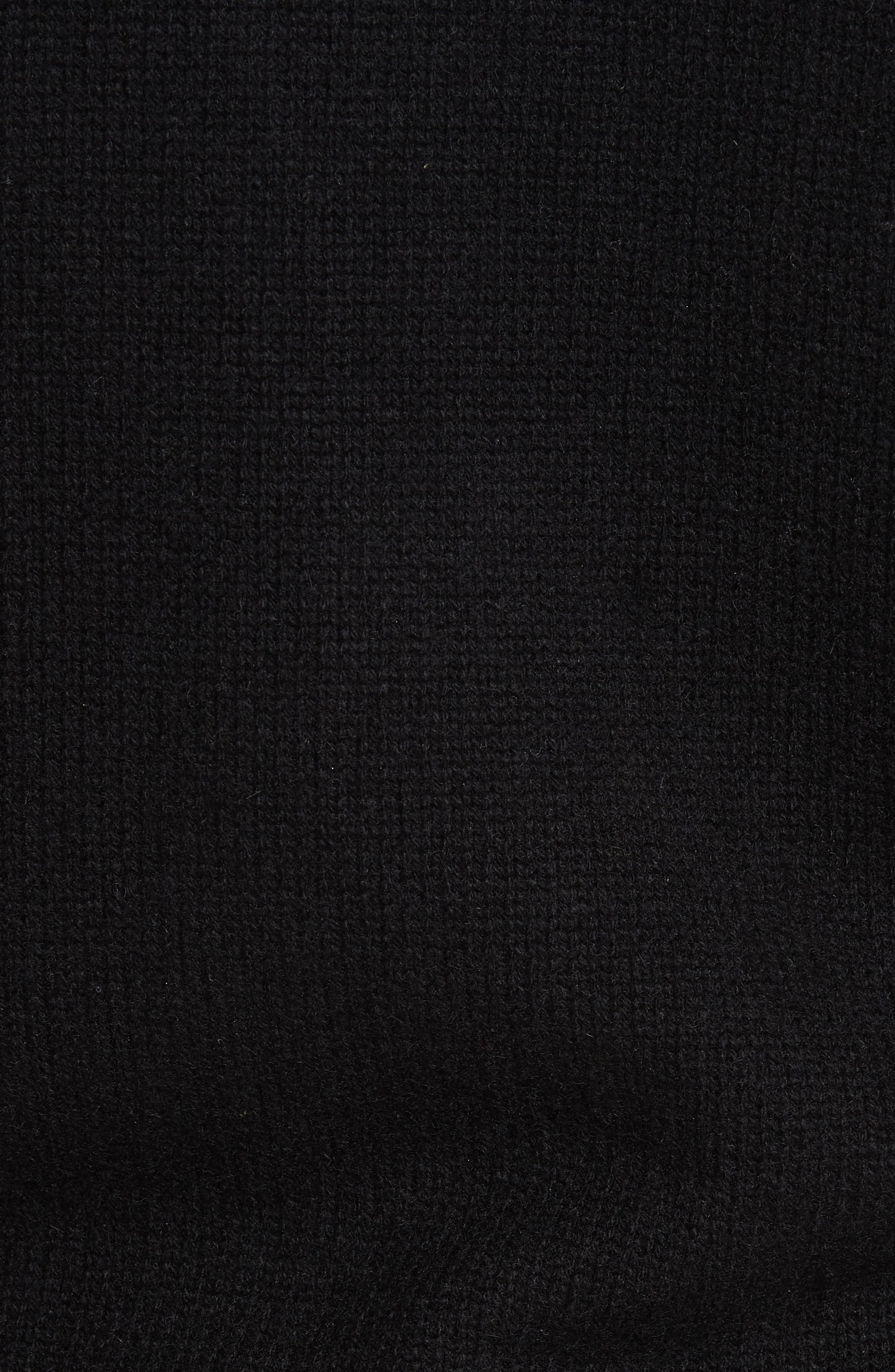 Stanford Cashmere Cardigan,                             Alternate thumbnail 5, color,                             BLACK