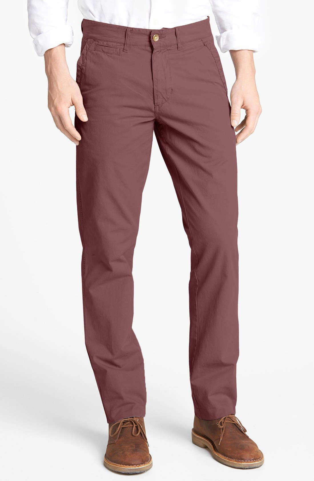 'Sahara' Trim Fit Vintage Washed Twill Chinos,                             Main thumbnail 10, color,