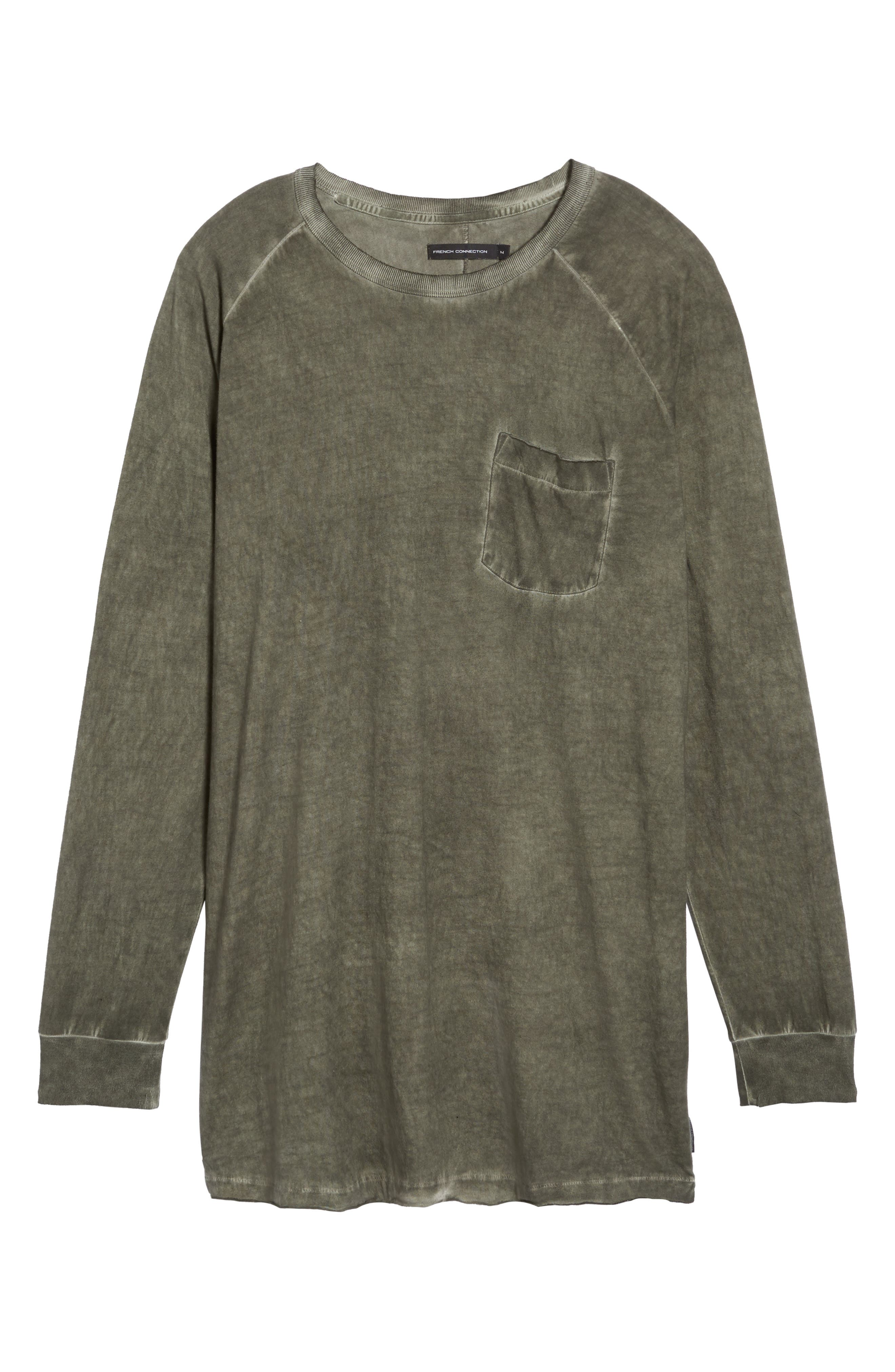 Pigment Dye Longline T-Shirt,                             Alternate thumbnail 12, color,