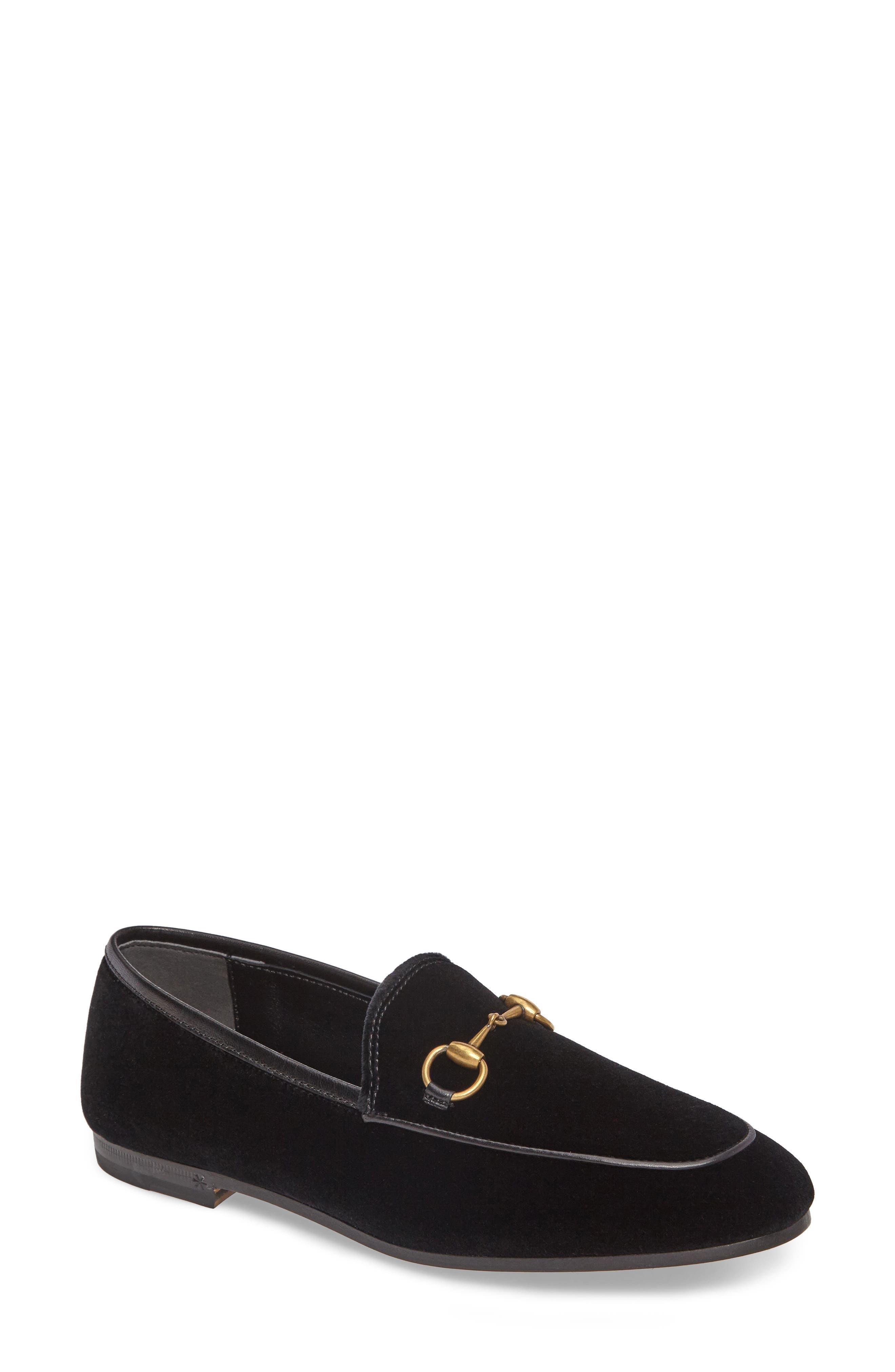 Brixton Velvet Loafer,                         Main,                         color, 001