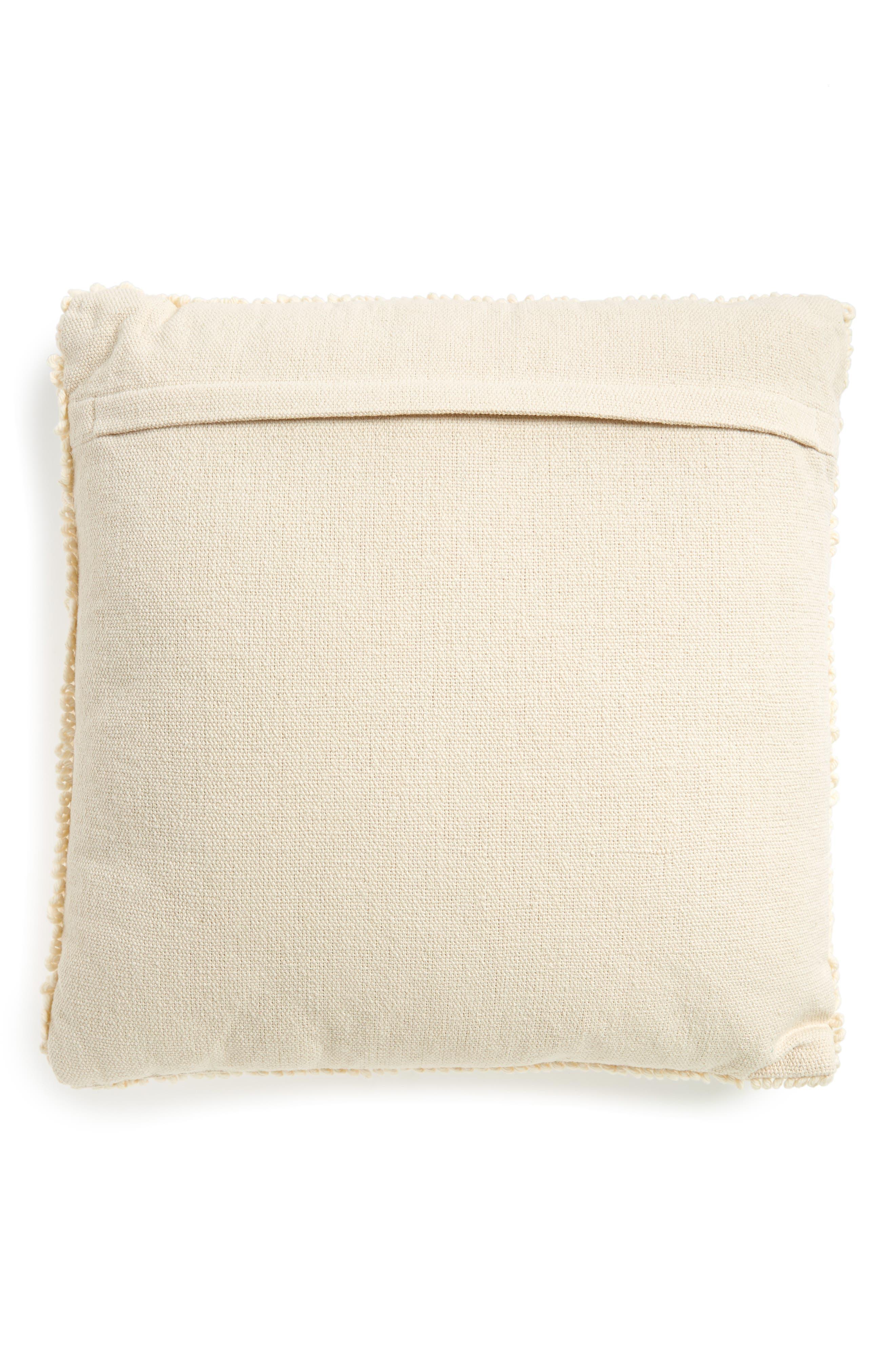 Square Accent Pillow,                             Alternate thumbnail 2, color,                             100