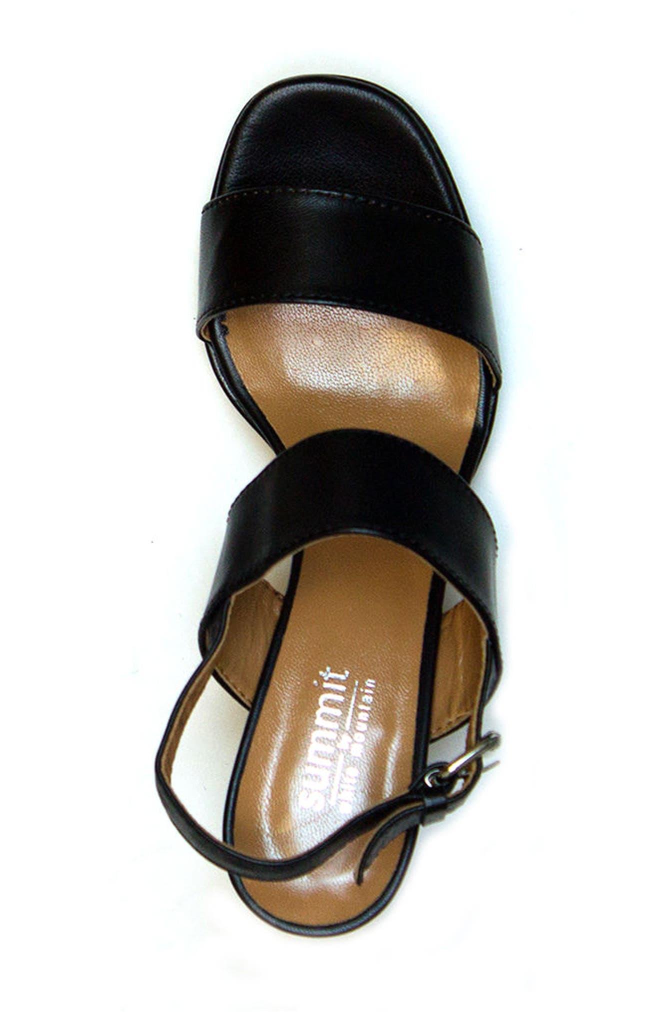 Summit Emilia Block Heel Sandal,                             Alternate thumbnail 7, color,
