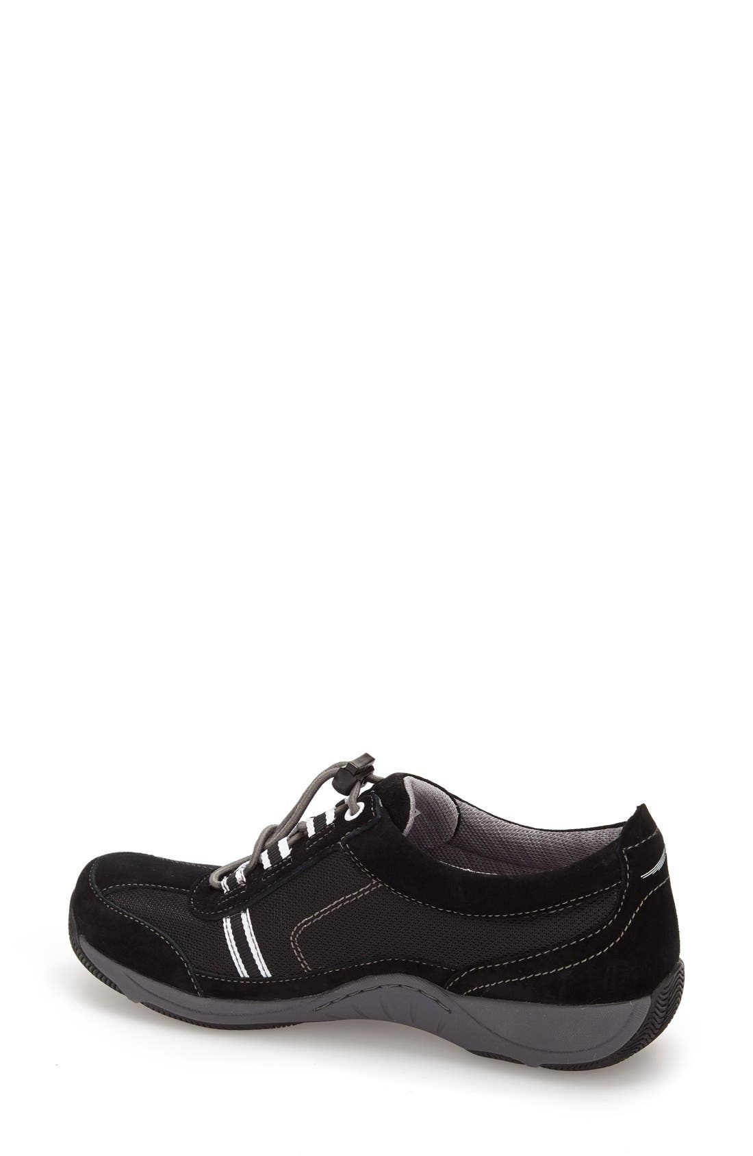 'Helen' Suede & Mesh Sneaker,                             Alternate thumbnail 75, color,