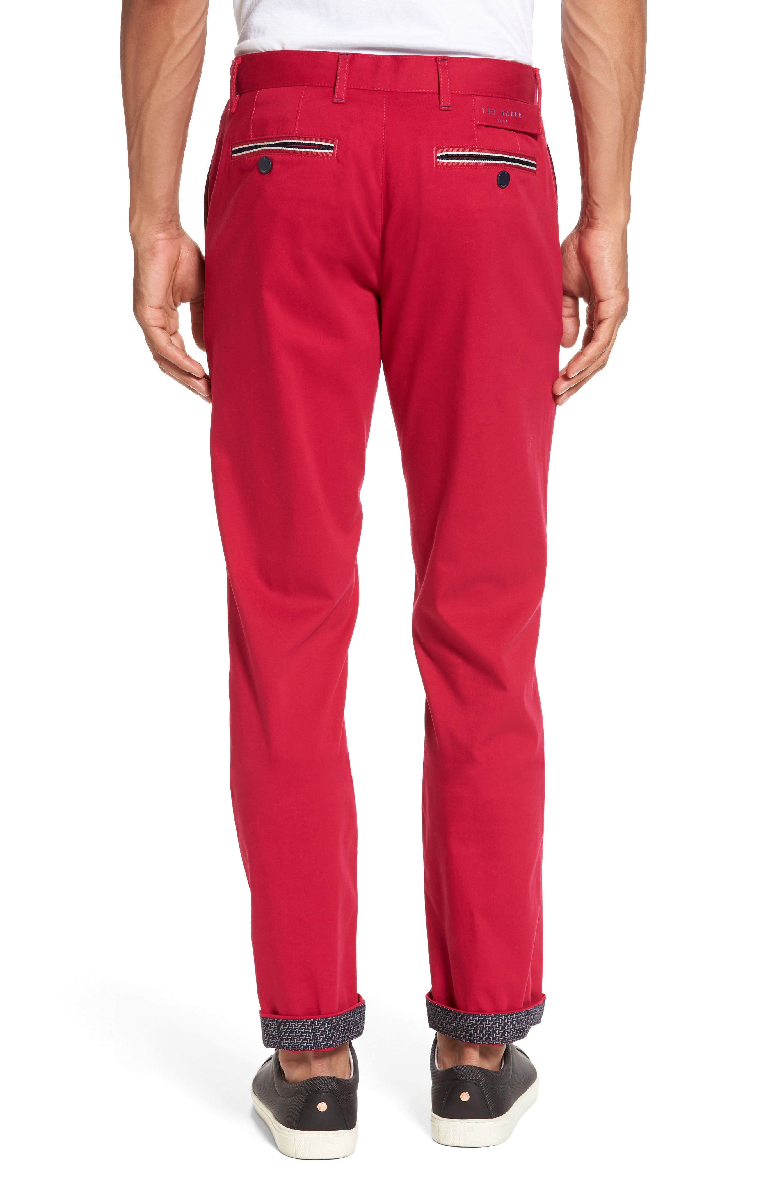Water Resistant Golf Chinos,                             Alternate thumbnail 3, color,                             660