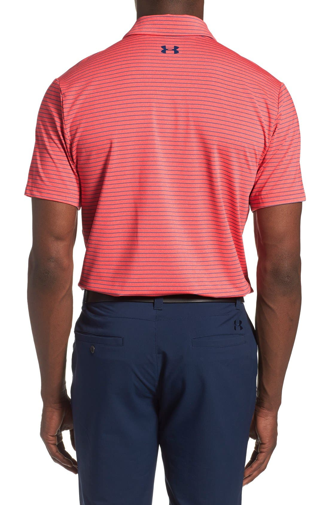 'Playoff' Loose Fit Short Sleeve Polo,                             Alternate thumbnail 224, color,