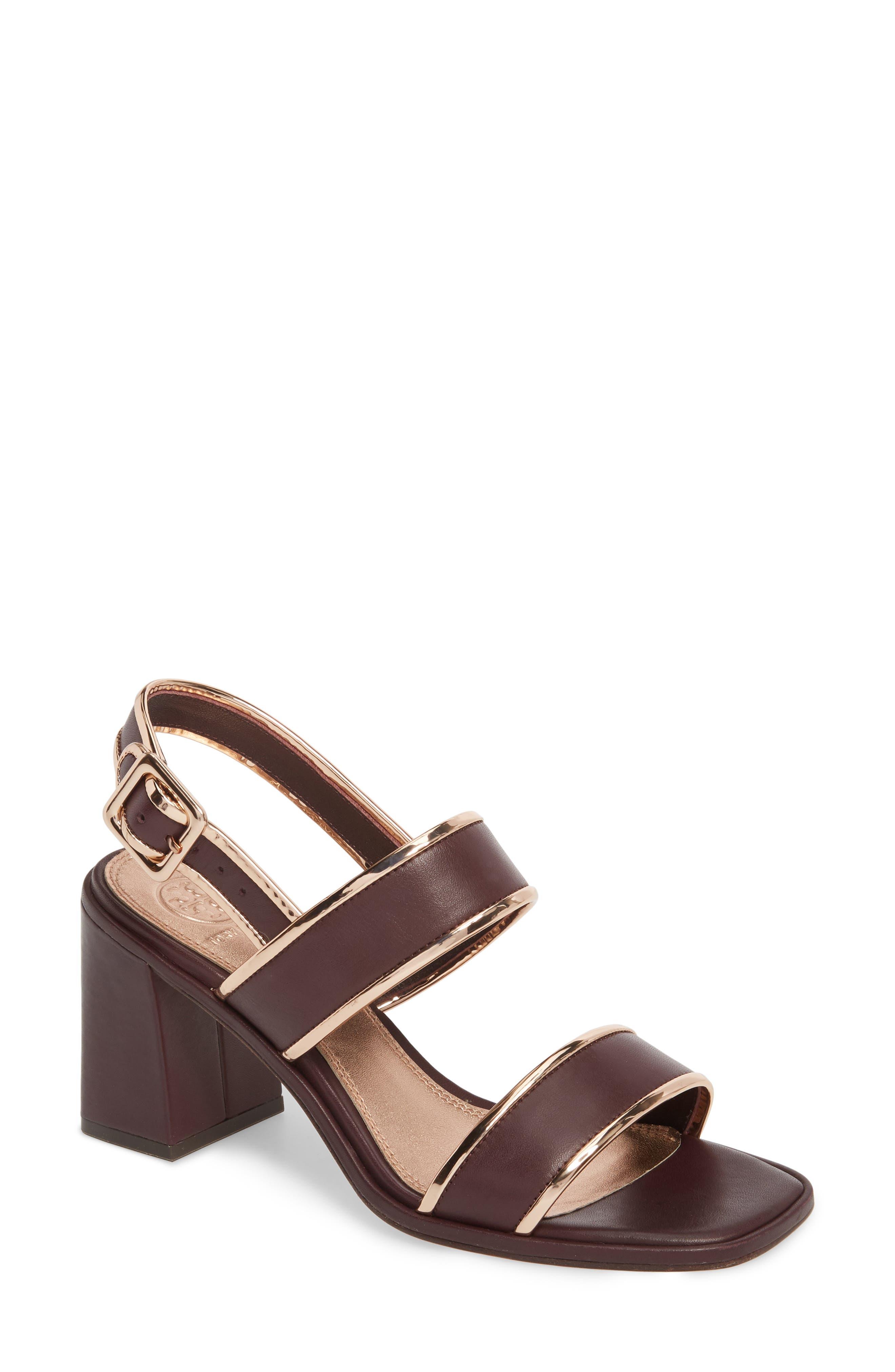 Delaney Double Strap Sandal,                             Main thumbnail 4, color,