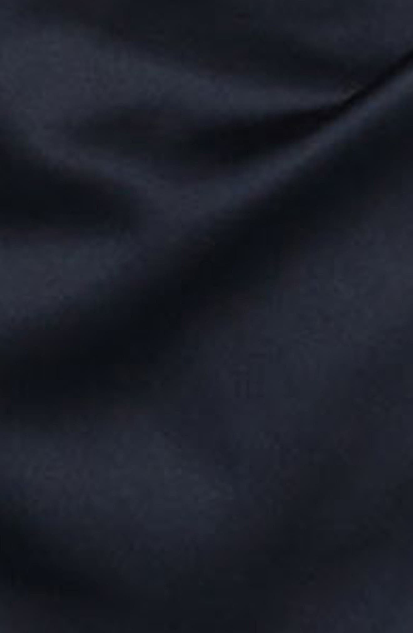 Stretch Satin Gown,                             Alternate thumbnail 5, color,                             002