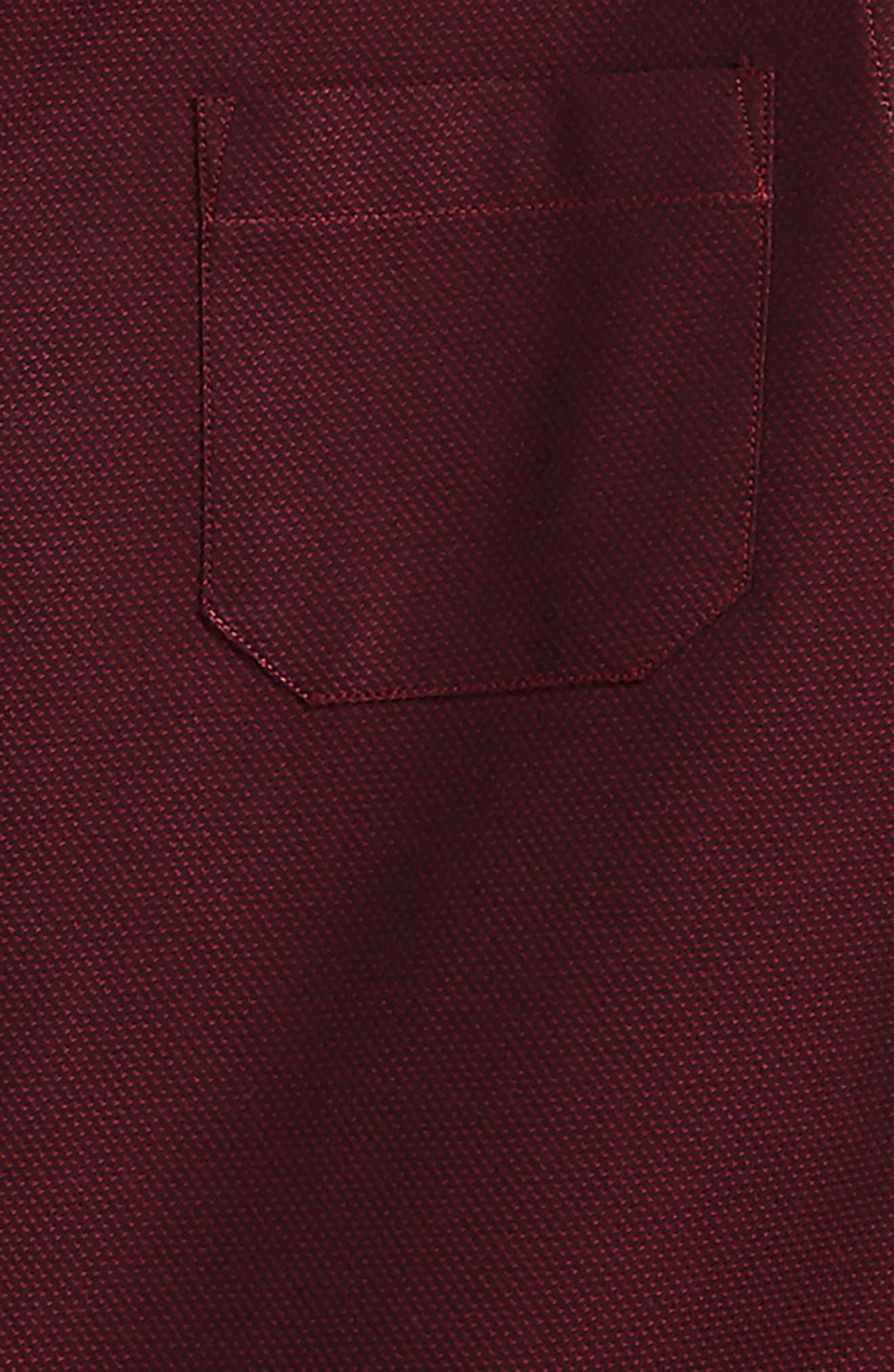 Textured Dress Shirt,                             Alternate thumbnail 2, color,