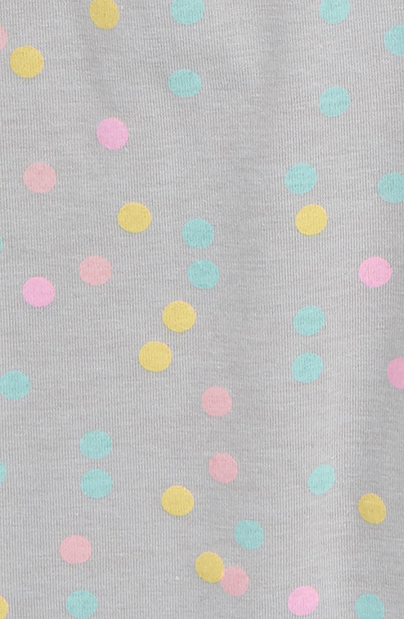 TRULY ME,                             Polka Dot Biker Shorts,                             Alternate thumbnail 2, color,                             024