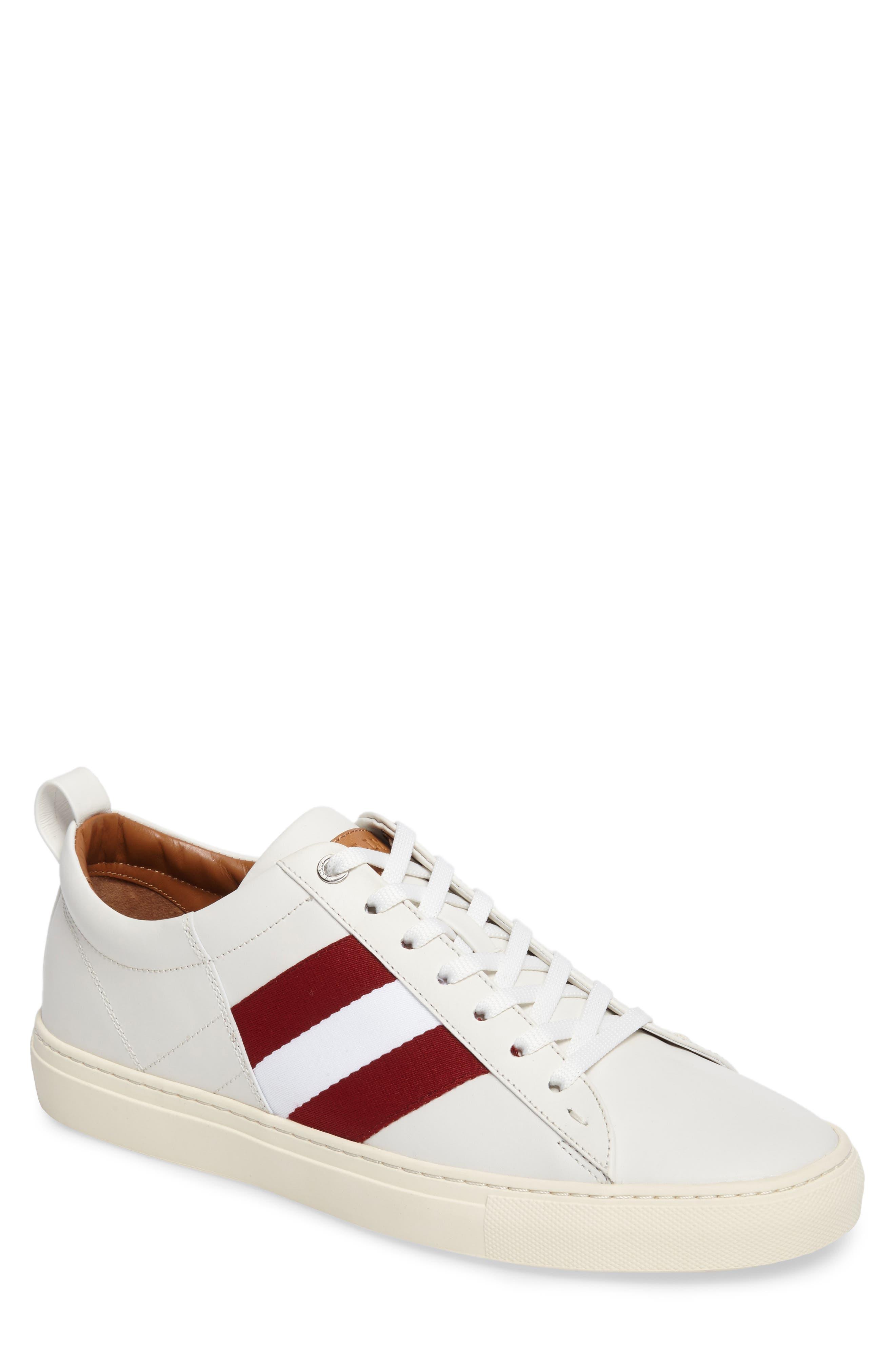 'Helvio' Sneaker,                         Main,                         color, WHITE