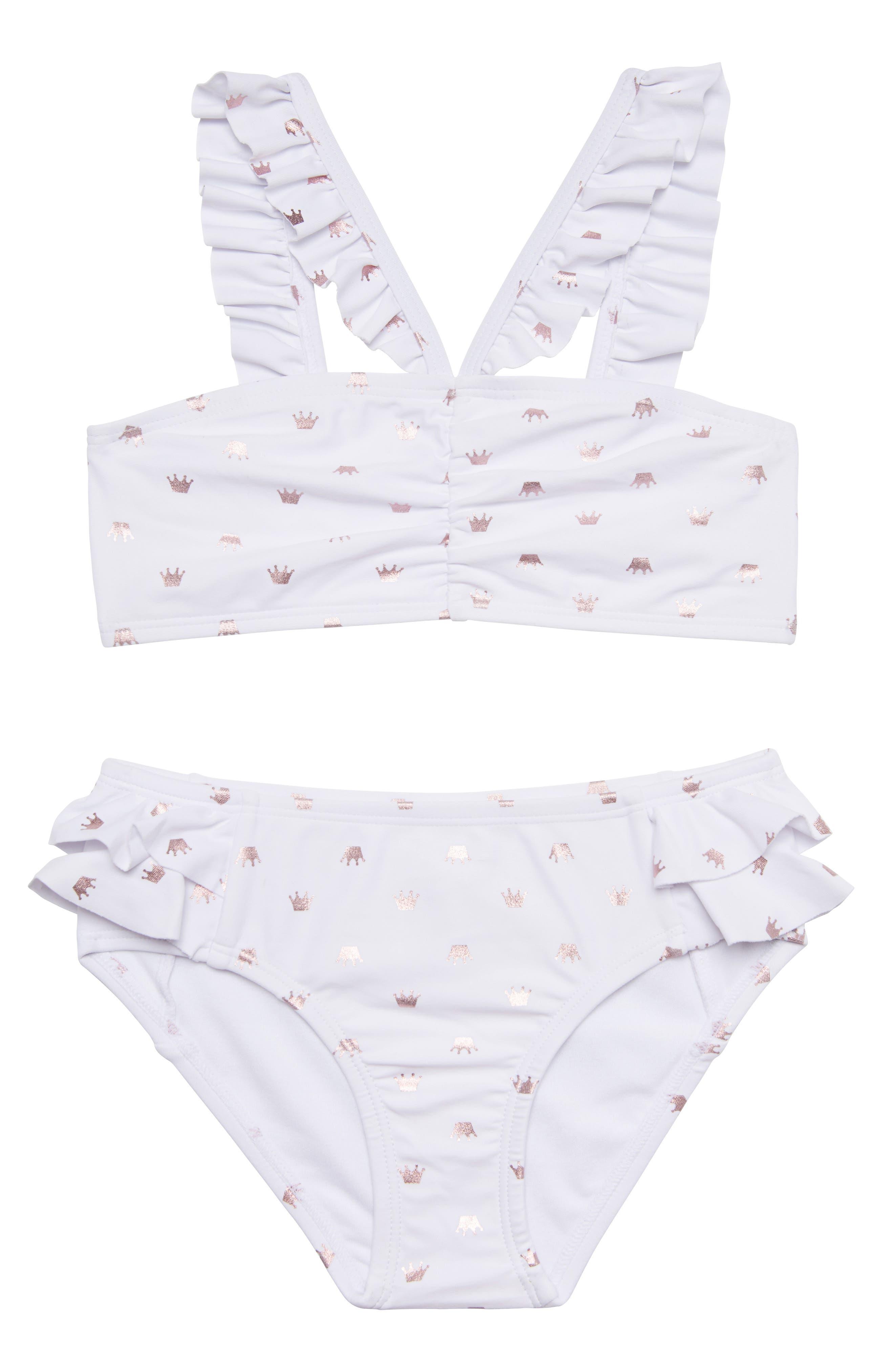 Pretty Princess Two-Piece Swimsuit,                         Main,                         color, 100