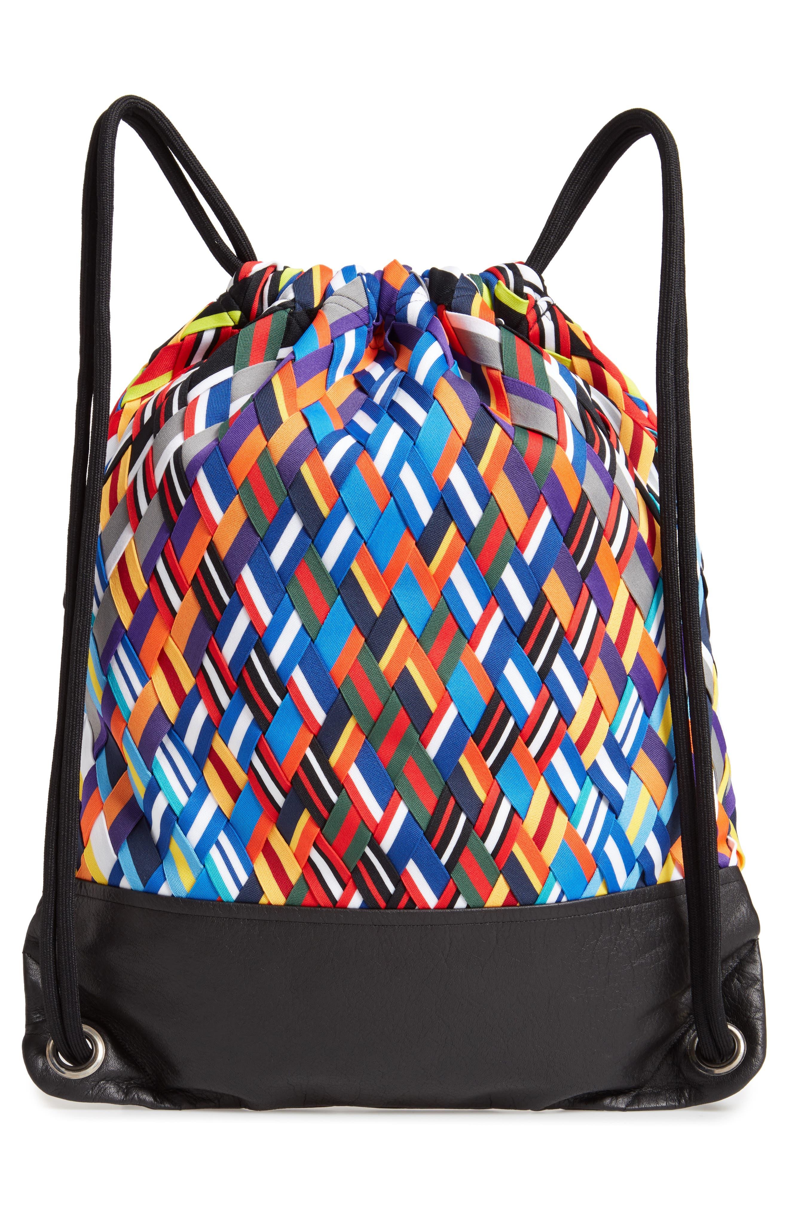NIKE,                             NikeLab Basketball Backpack,                             Alternate thumbnail 3, color,                             BLACK