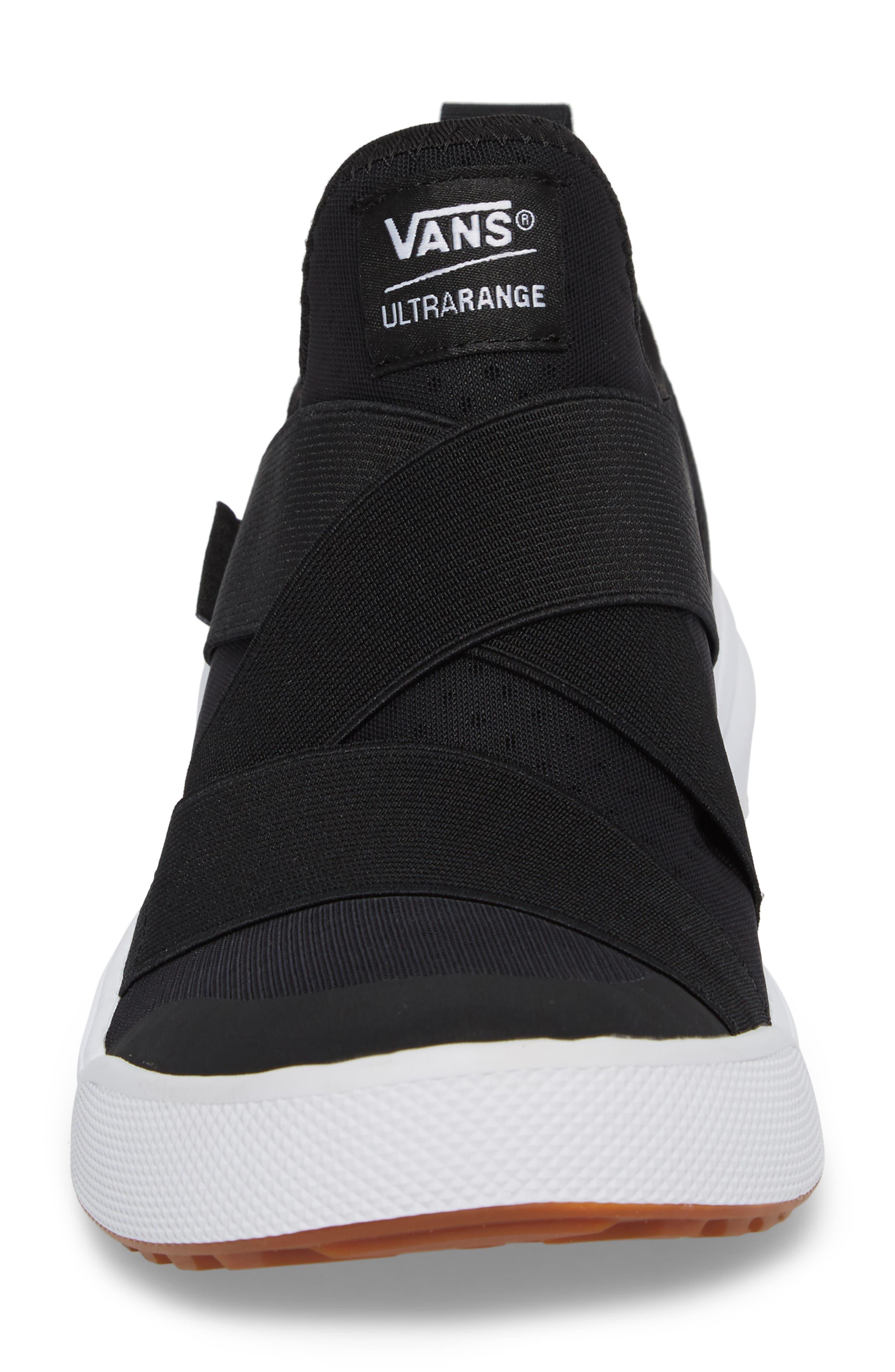 UltraRange Gore Slip-On Sneaker,                             Alternate thumbnail 4, color,                             BLACK