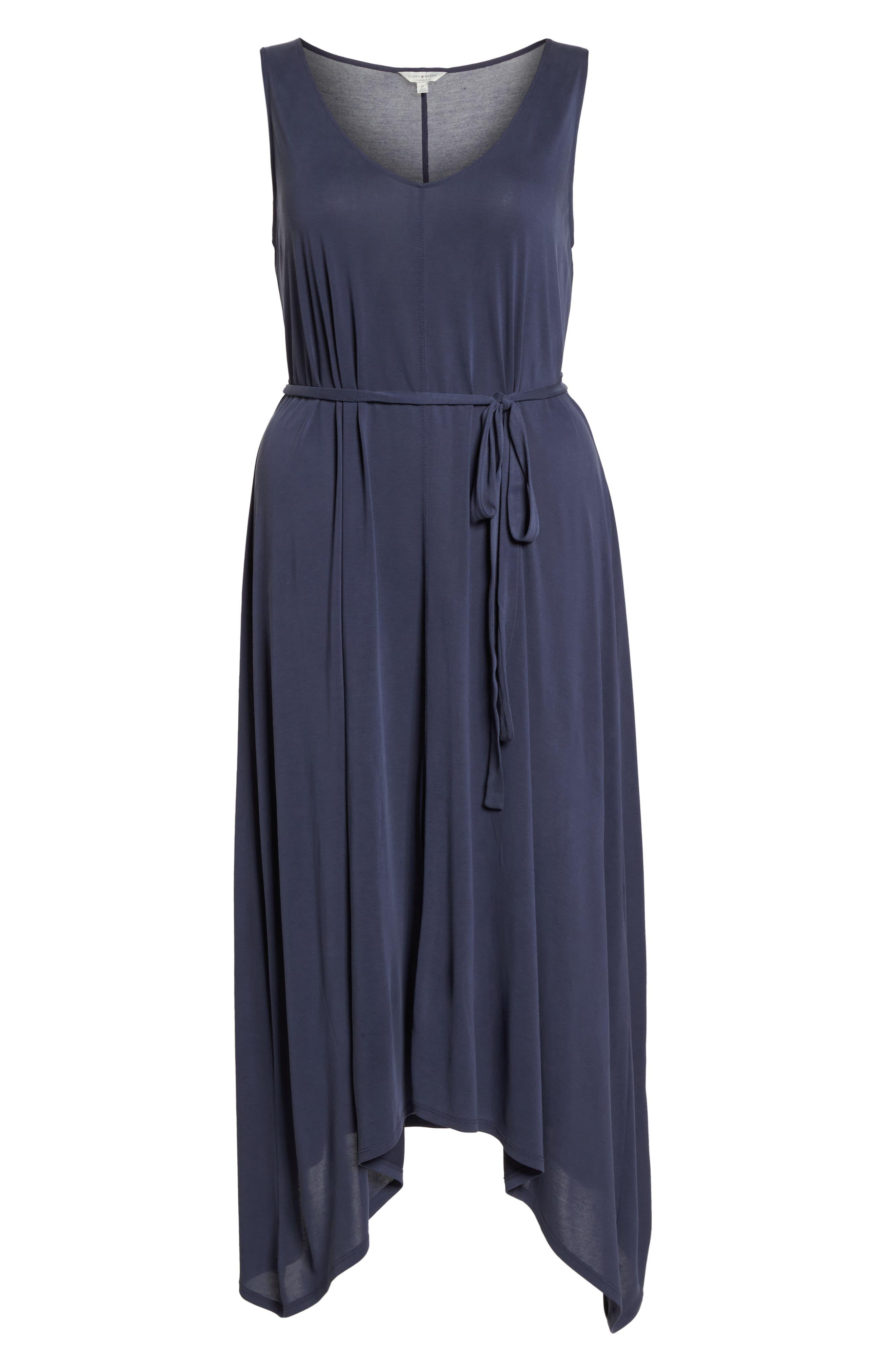 Sandwashed Maxi Dress,                             Alternate thumbnail 7, color,