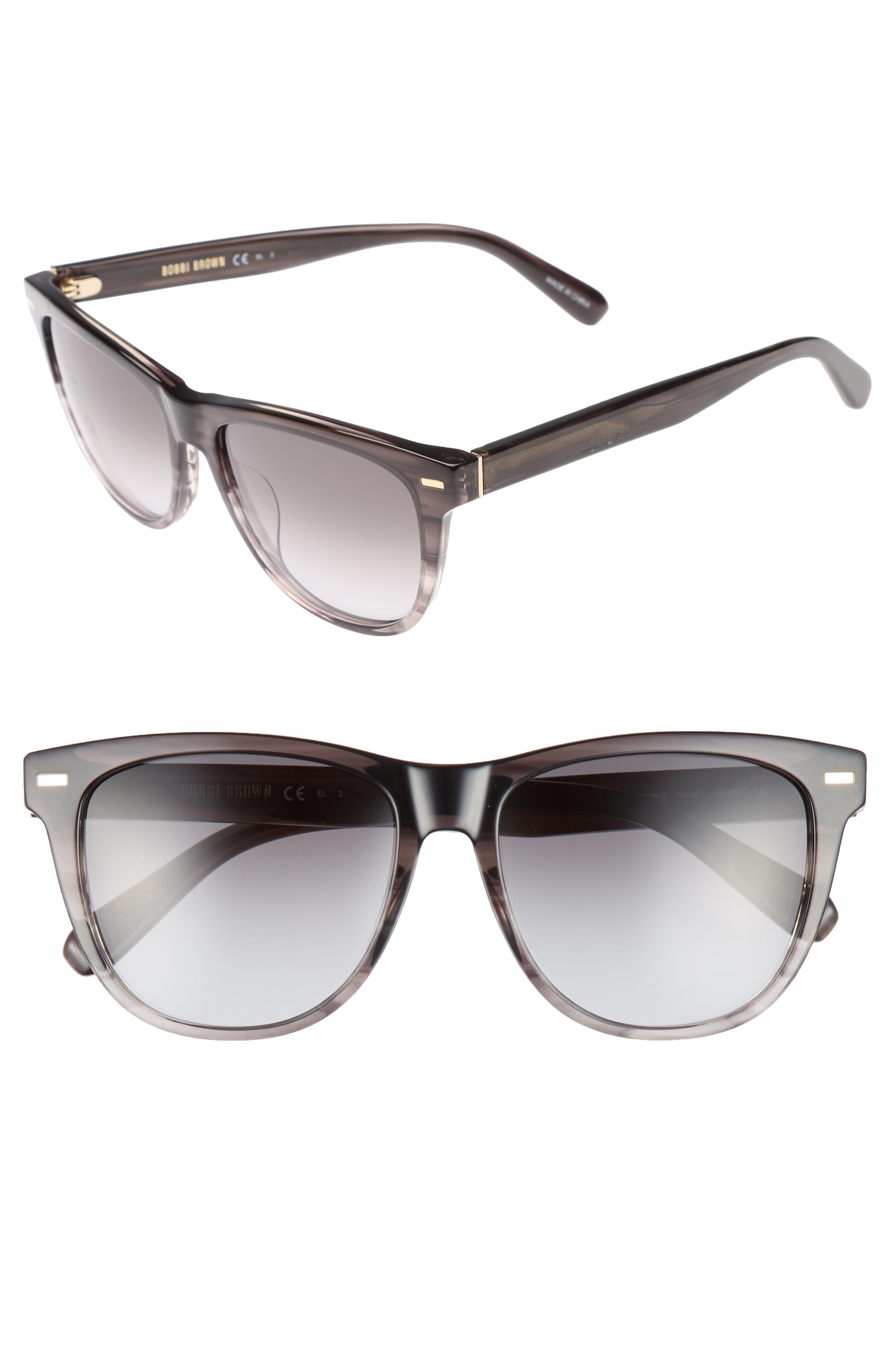The Emerson 54mm Sunglasses,                             Main thumbnail 1, color,                             001