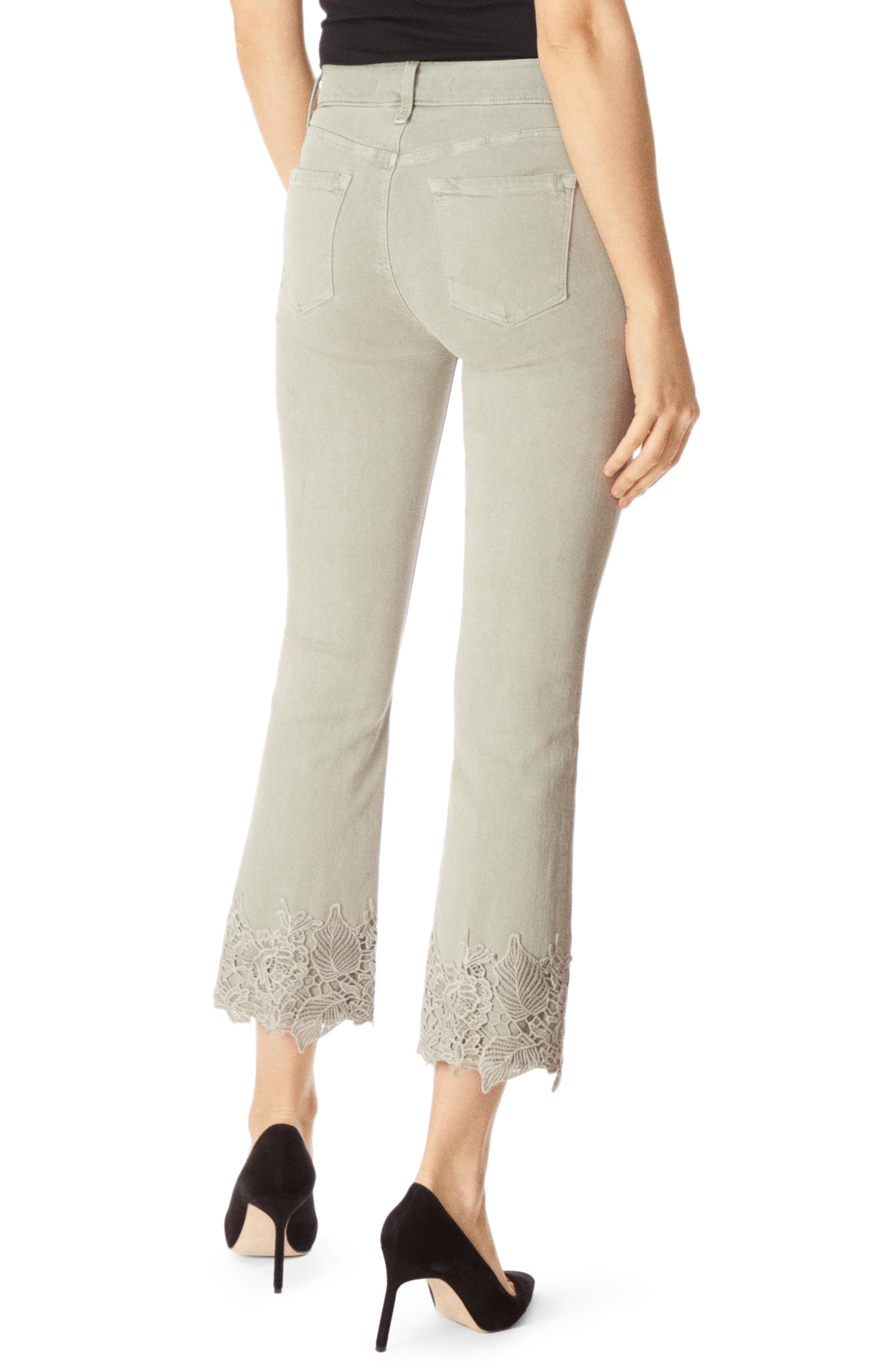 J BRAND,                             Selena Crop Bootcut Jeans,                             Alternate thumbnail 2, color,                             FADED GIBSON