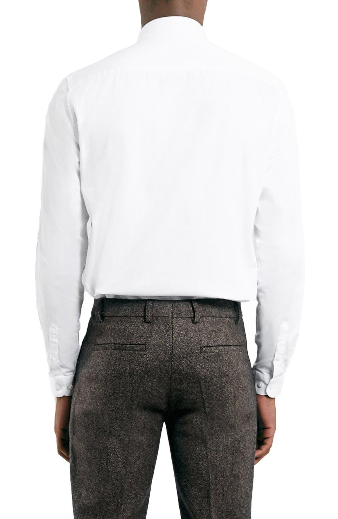 Dress Shirt,                             Alternate thumbnail 5, color,                             WHITE
