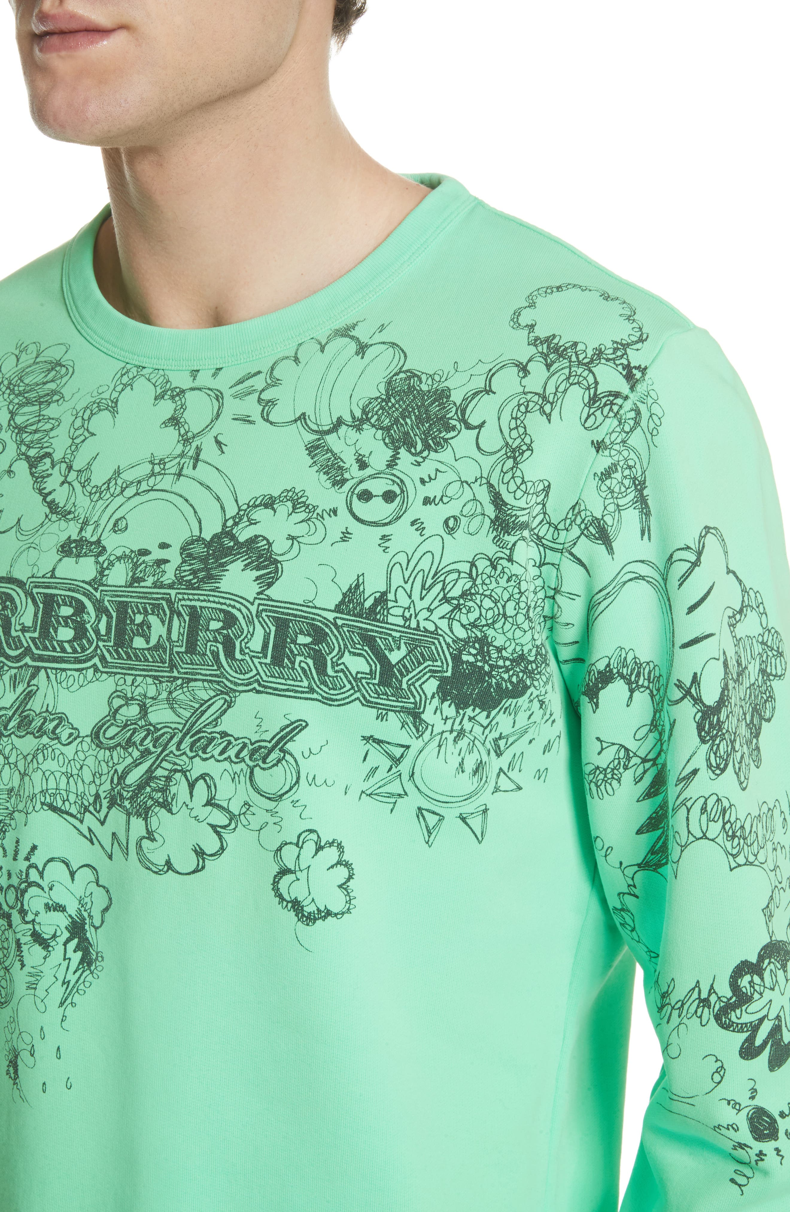 Madon Graphic Sweatshirt,                             Alternate thumbnail 4, color,                             300