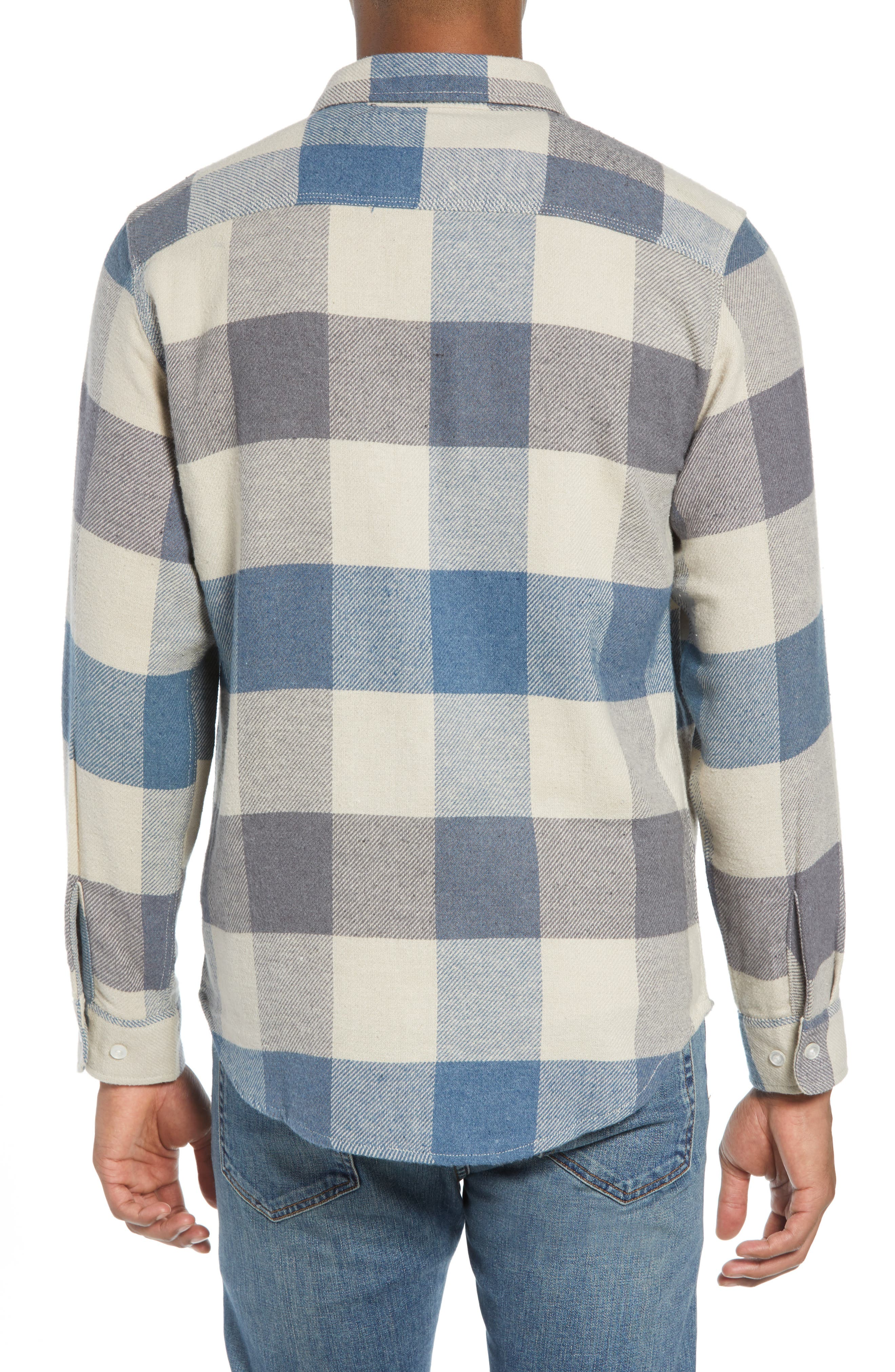 Bowery Flannel Shirt,                             Alternate thumbnail 26, color,