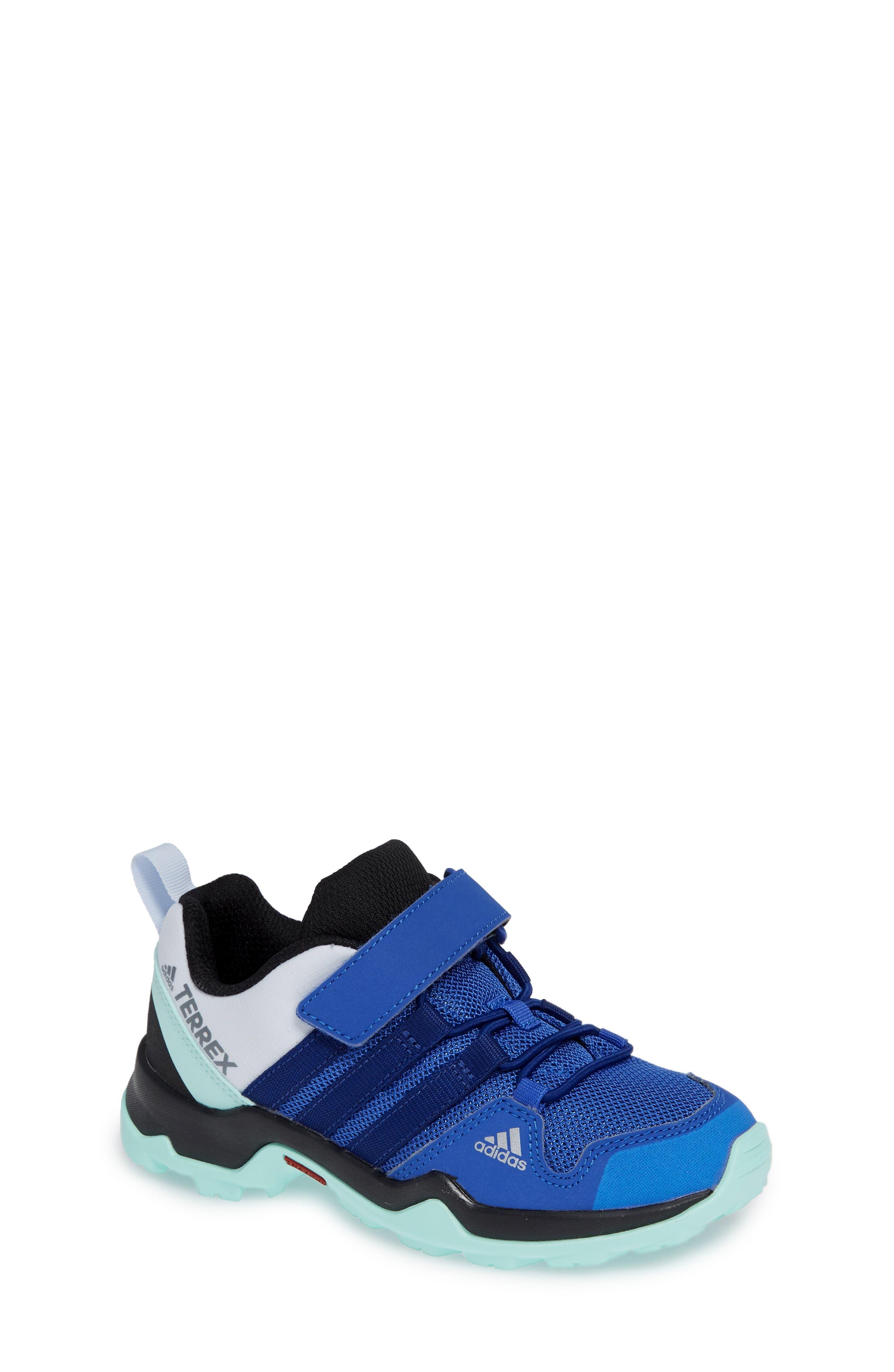 Terrex AX2R Sneaker,                             Main thumbnail 1, color,                             HI-RES BLUE/ MYSTERY INK/ MINT