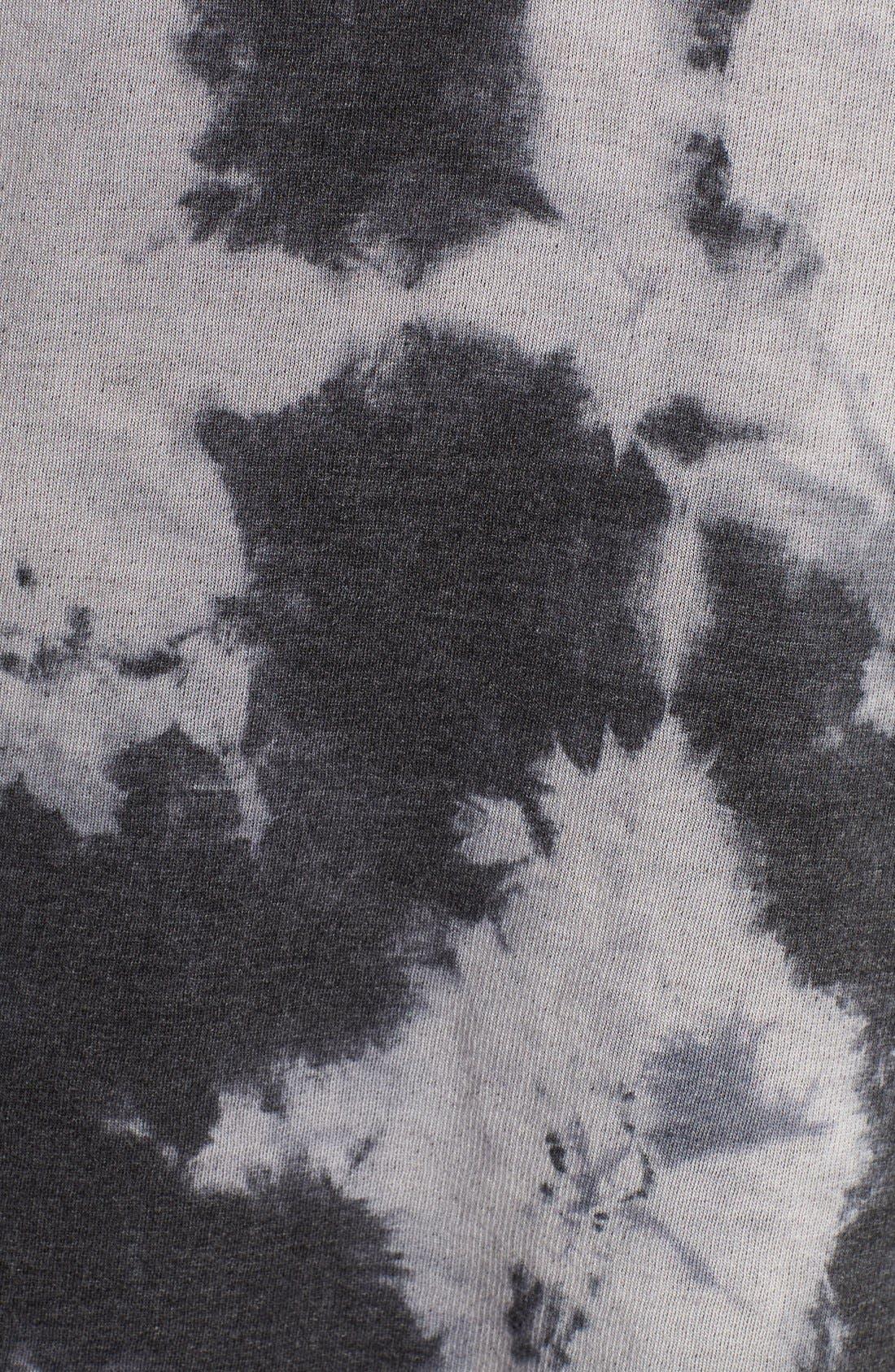 HARD TAIL,                             Fleece Lined Wrap Cardigan,                             Alternate thumbnail 4, color,                             005