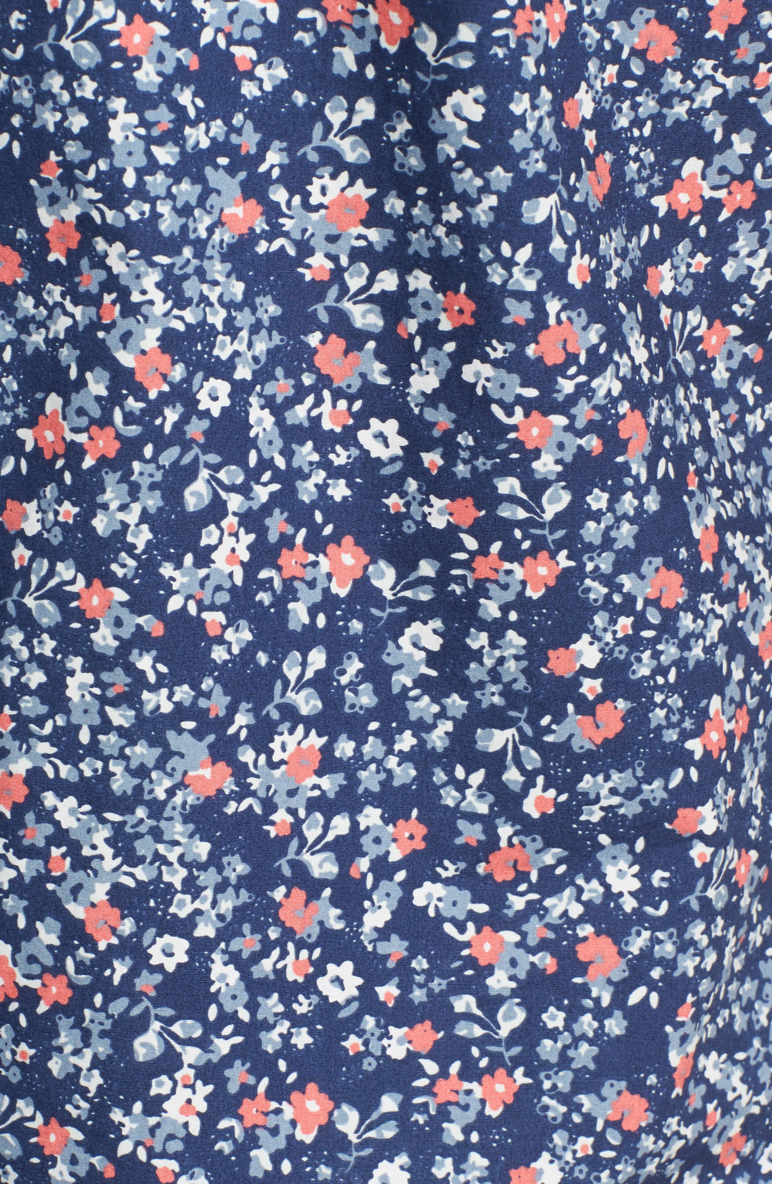 Memories Slim Fit Short Sleeve Sport Shirt,                             Alternate thumbnail 5, color,                             410