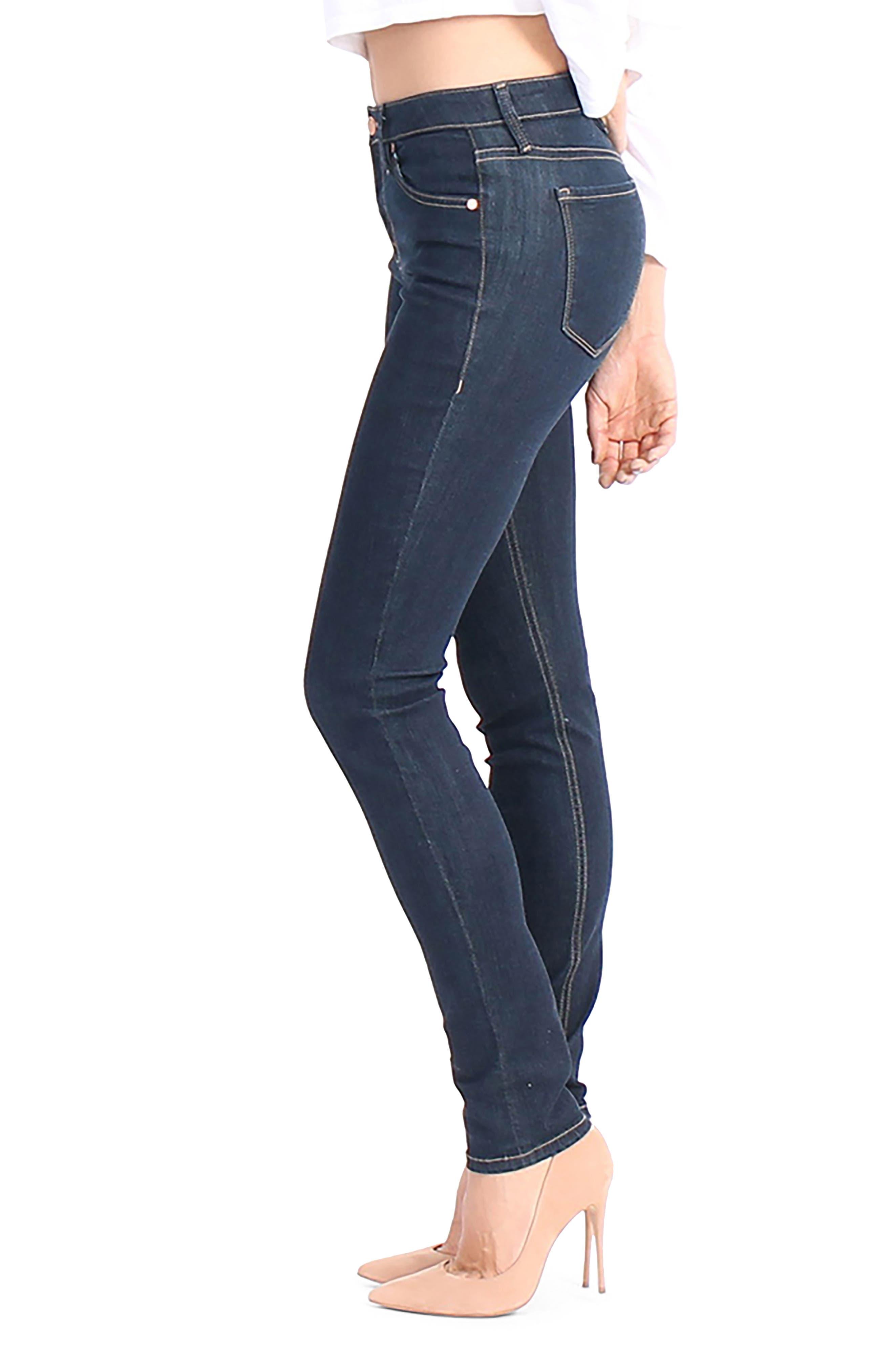 Liza Skinny Jeans,                             Alternate thumbnail 3, color,                             491