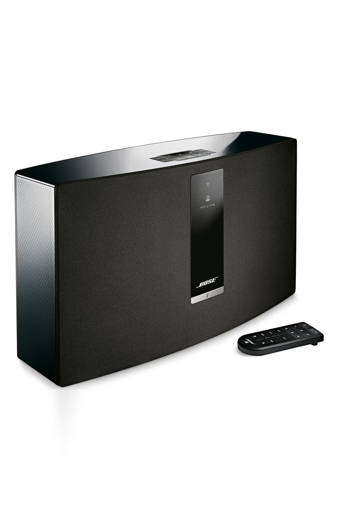 SoundTouch<sup>®</sup> 30 Series III Wireless Music System,                             Alternate thumbnail 4, color,                             BLACK